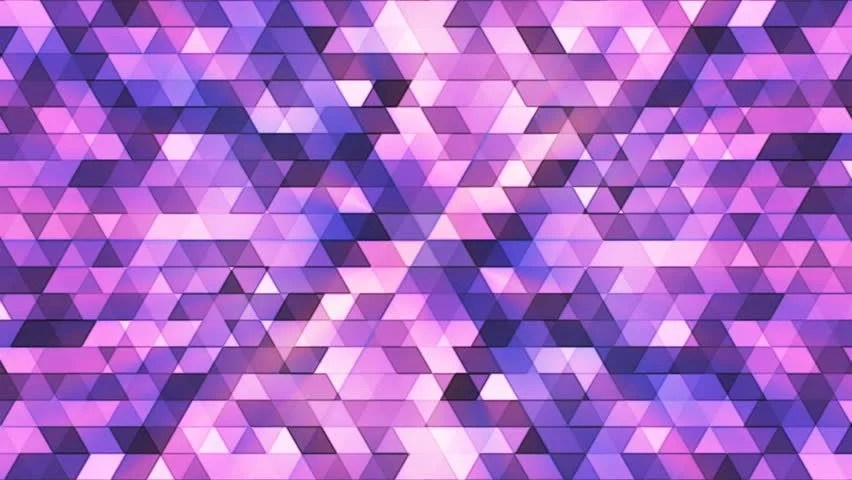 Cute Teal Wallpapers 3d Triangle Pattern Loop With A White Purple And Blue