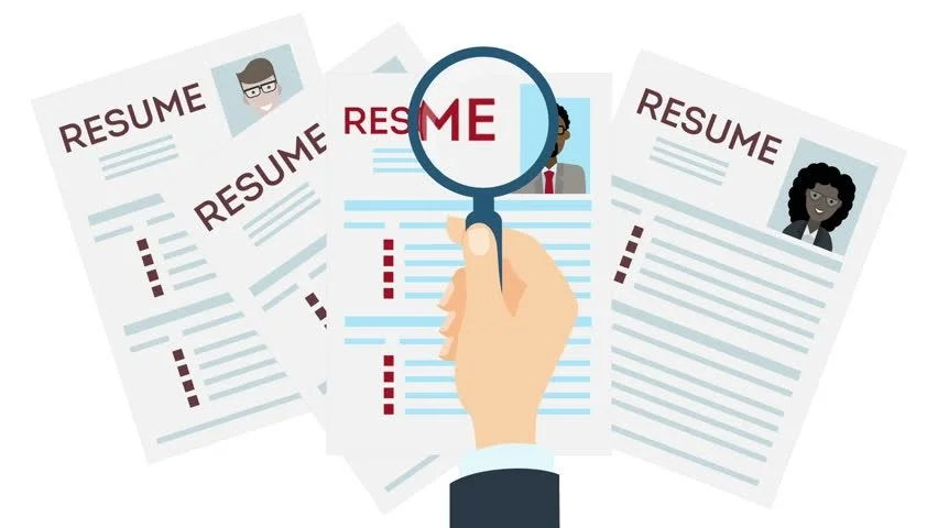 Resume template Stock Video Footage - 4K and HD Video Clips