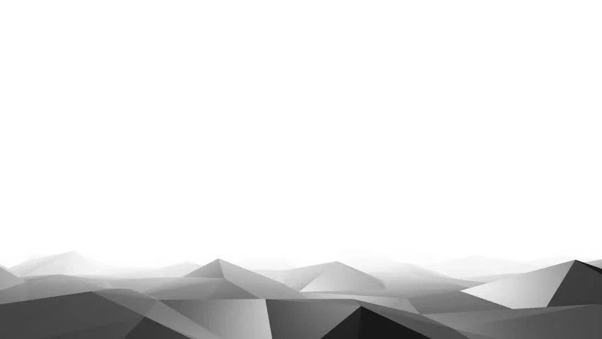 3d Geometric Shapes Wallpaper White Triangular 3d Shapes Melt In A White Background Conceptual