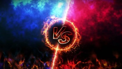 Versus Fight Backgrounds, Vs On Stock Footage Video (100% ...