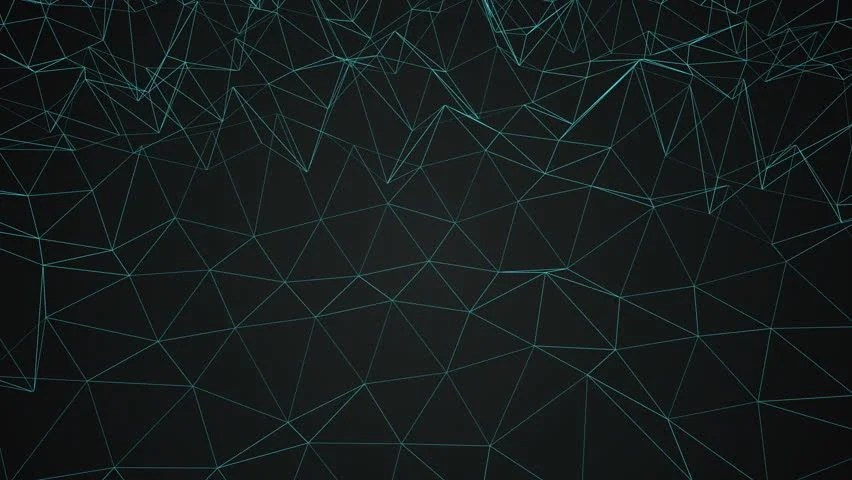 Animated Tech Wallpaper Black Seamless Animated Background Loop Stock Footage