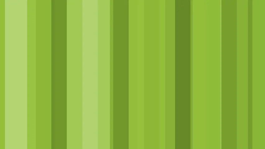 Looping Green Stripes, Abstract Background, Video de stock