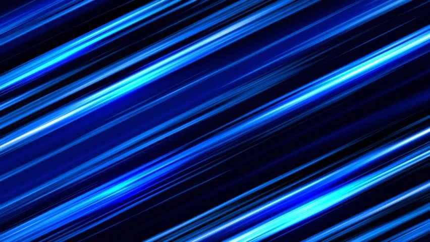 Animation of Blue Abstract Lines Stock Footage Video (100 Royalty