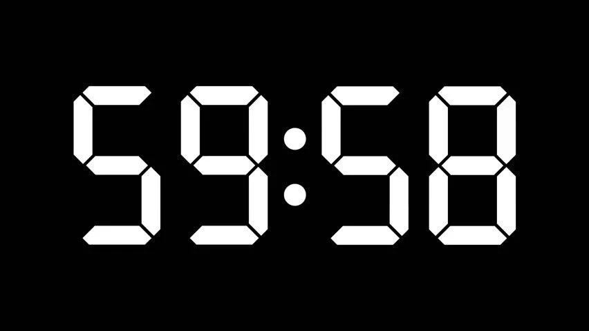 Free Timer Stock Video Footage Download 4K  HD Clips