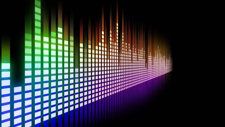 Light Effect Hd Wallpaper Sound Graphic Equalizer Stock Footage Video 771844