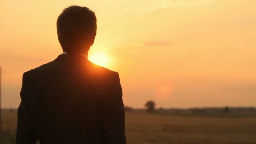 Lonely Girl Walking Wallpaper Sad Man Contemplating Ocean Sunset Spiritual Mood Summer