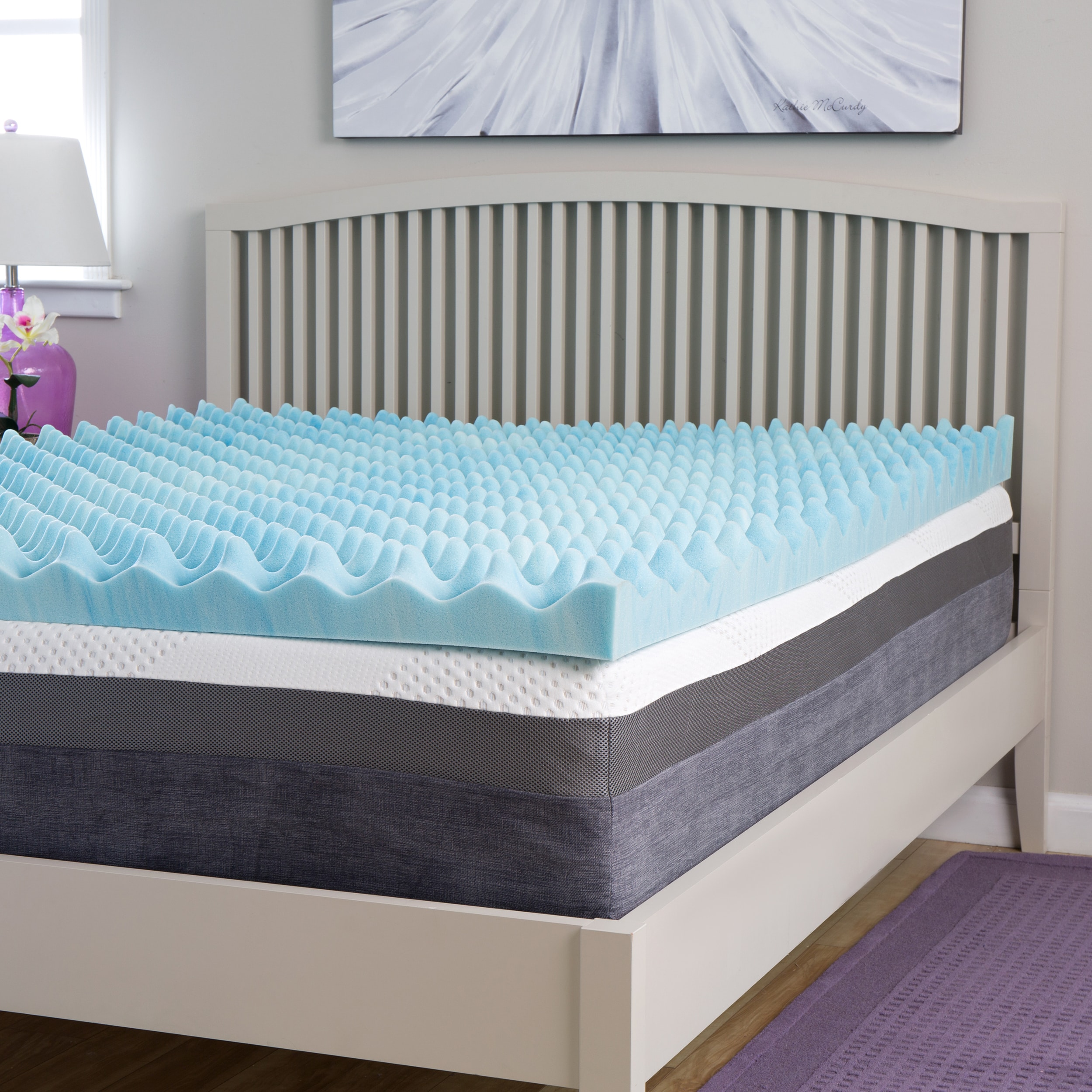 Gel Topper 200x200 Slumber Perfect Big Bump 4 Inch Gel Memory Foam Topper