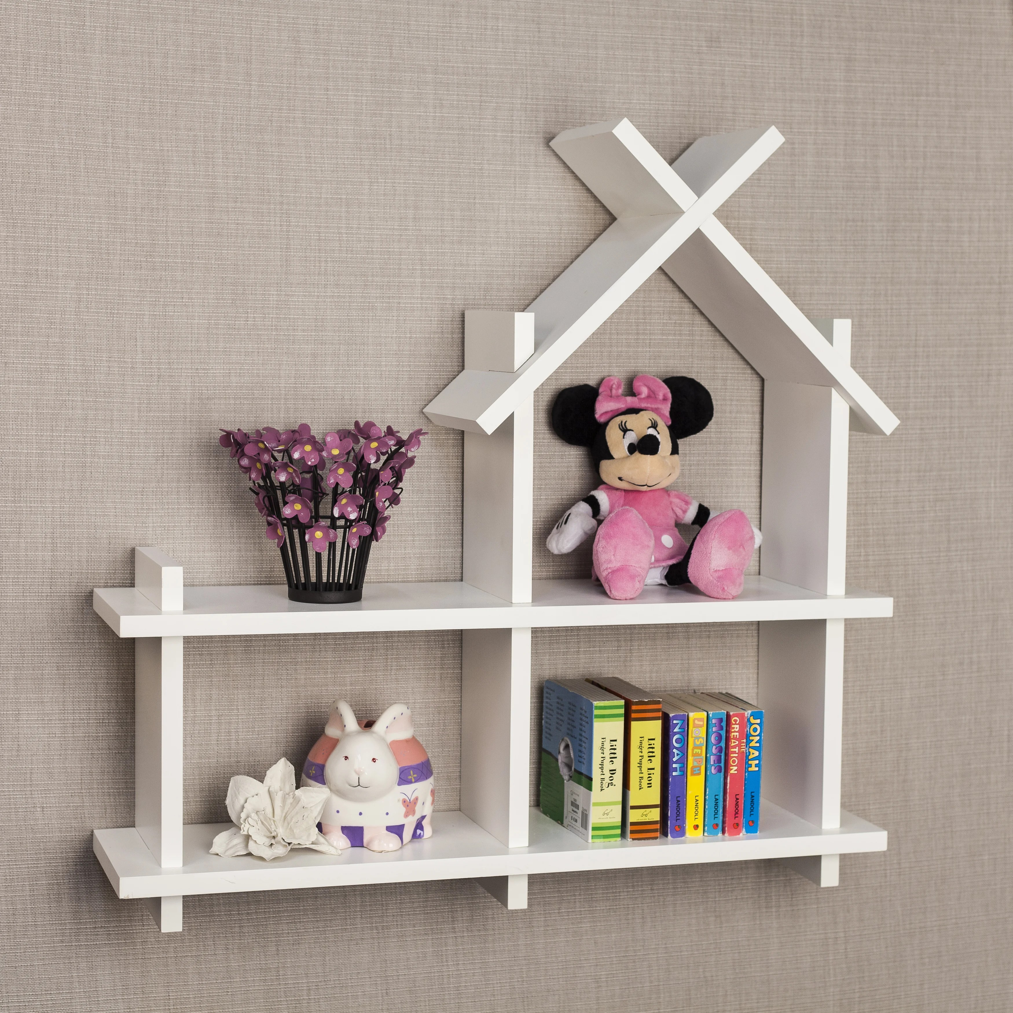 Wall Shelf Design Danya B House Design White Wall Shelf