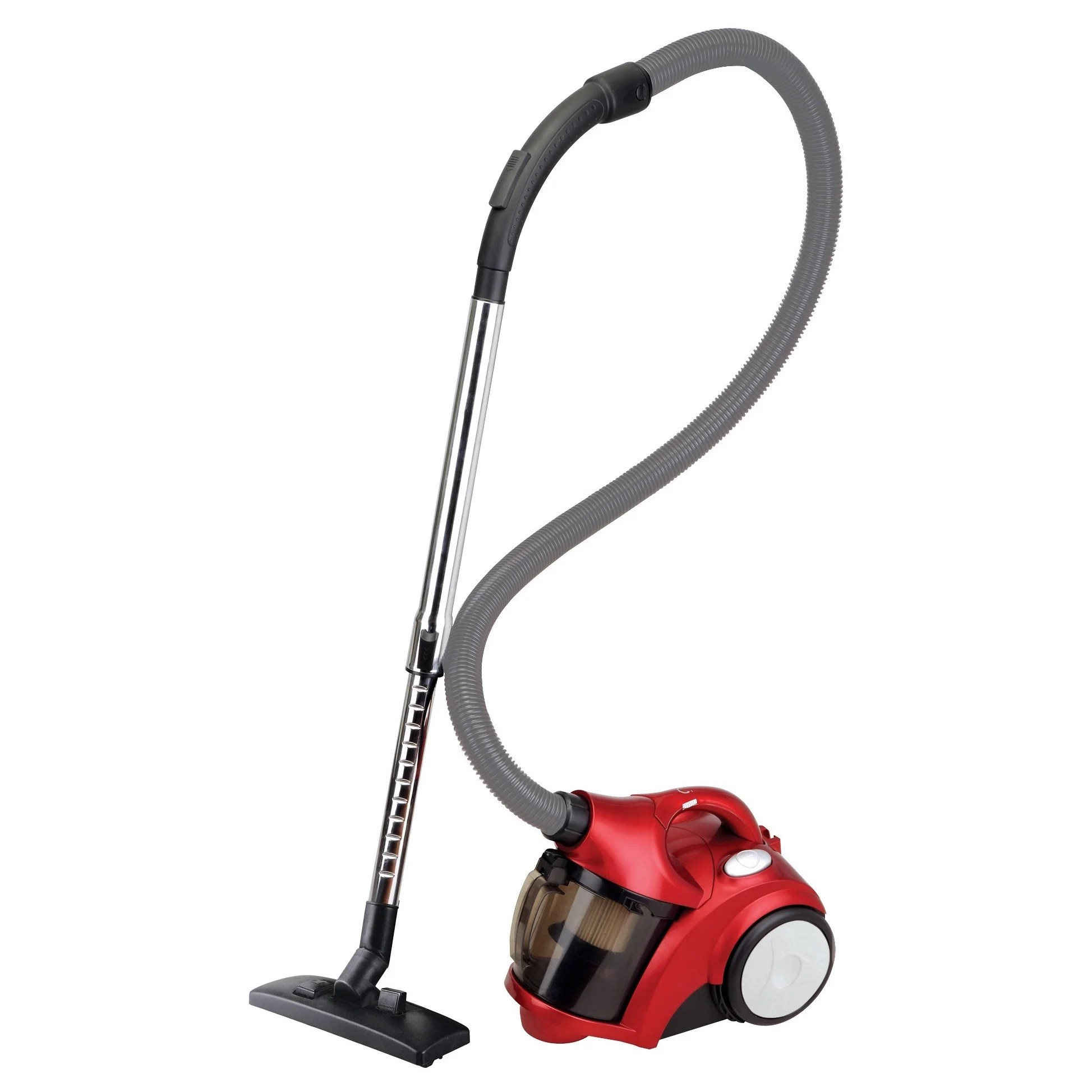 Sofa Vacuum Cleaner Brush Ovente St2500r1 Red Bagless Cyclonic Vacuum With Sofa Brush