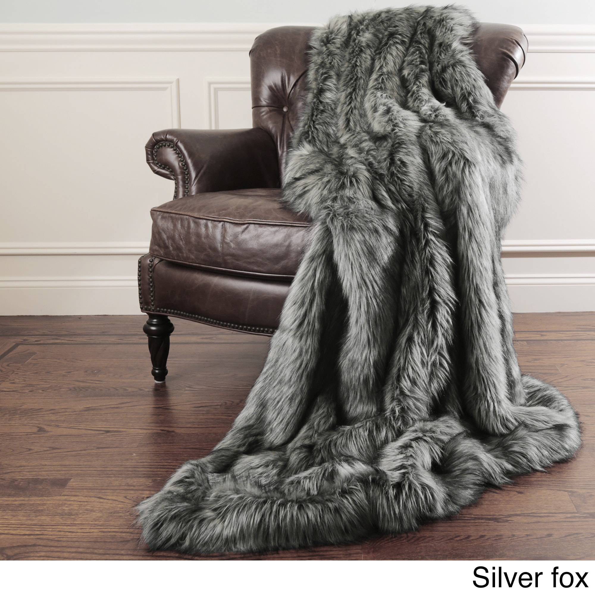 Throw Blankets Aurora Home Faux Fur Throw Blankets By Wild Mannered