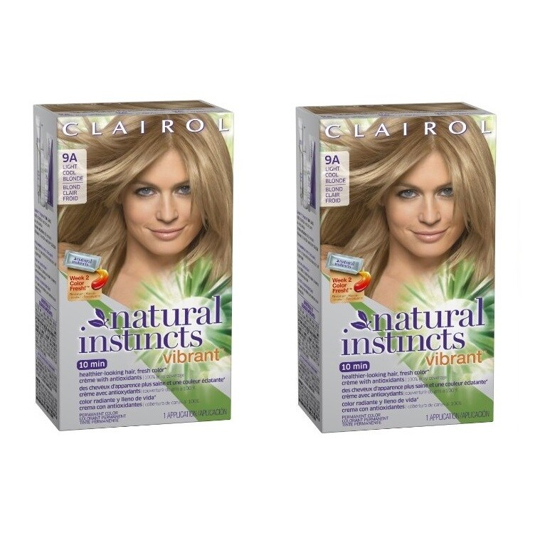 Shop Clairol Natural Instincts Vibrant Permanent Hair Color 9A Alive