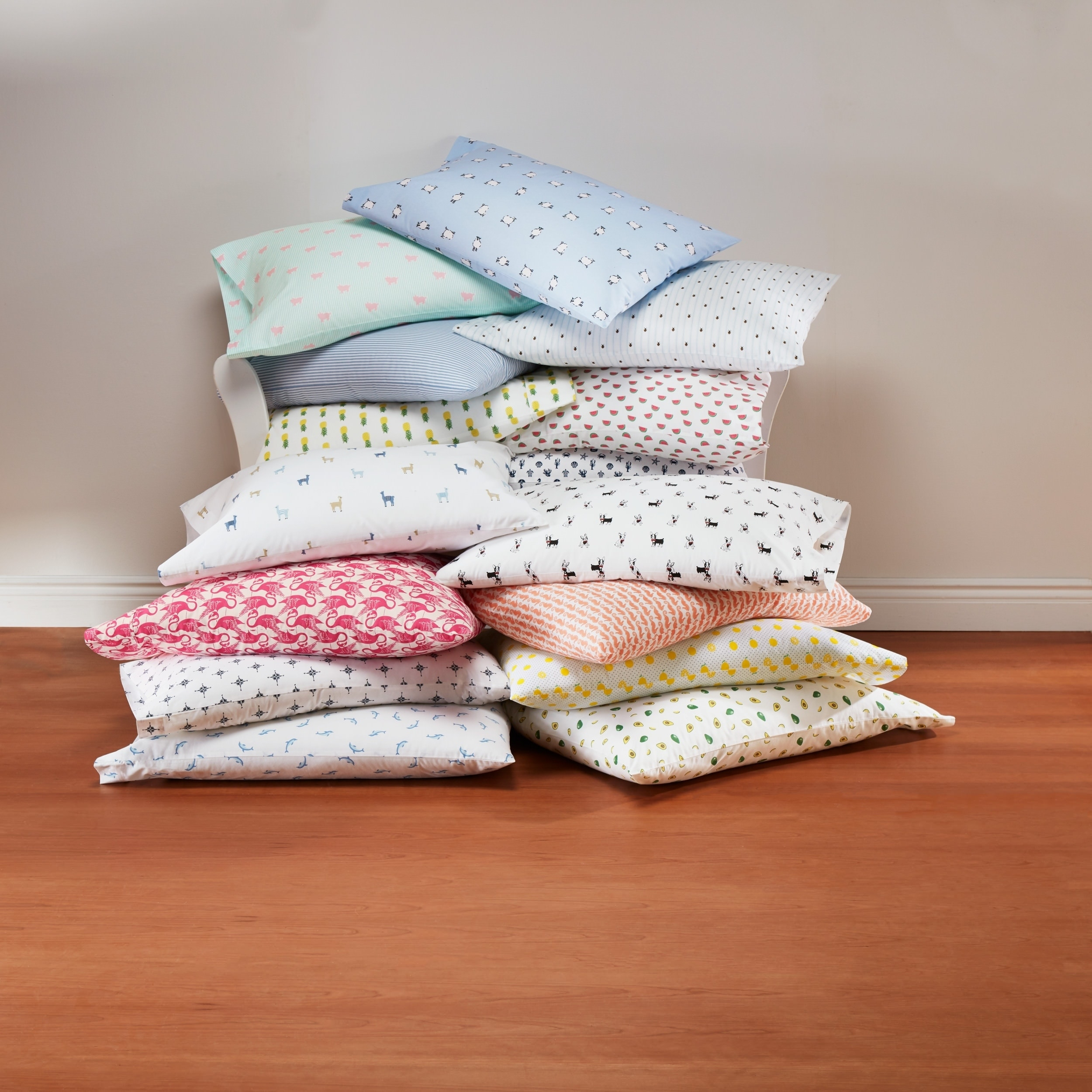 Printed Sheet Sets Poppy Fritz Cotton Percale Printed Sheet Sets