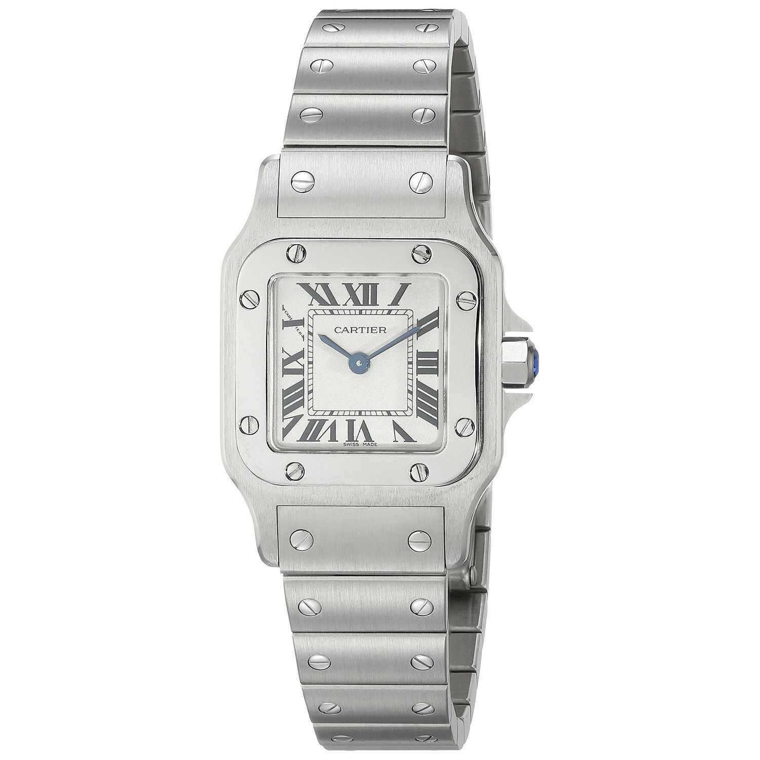 Cartier Watches Cartier Women S W20056d6 Santos Stainless Steel Watch