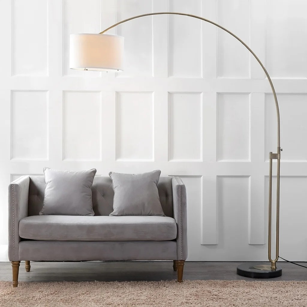 Small Arc Floor Lamp Safavieh Lighting 84 Inch Polaris Arc Floor Lamp