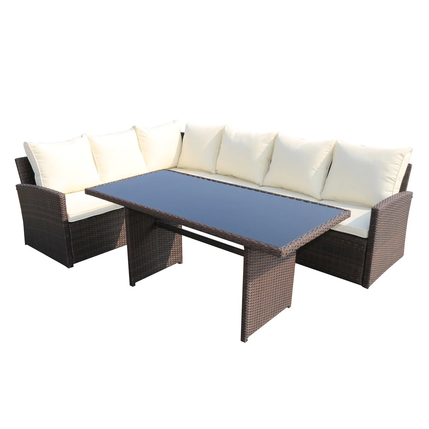 Rattan Sofa Barcelona Rattan Sofa Patio Dining Set