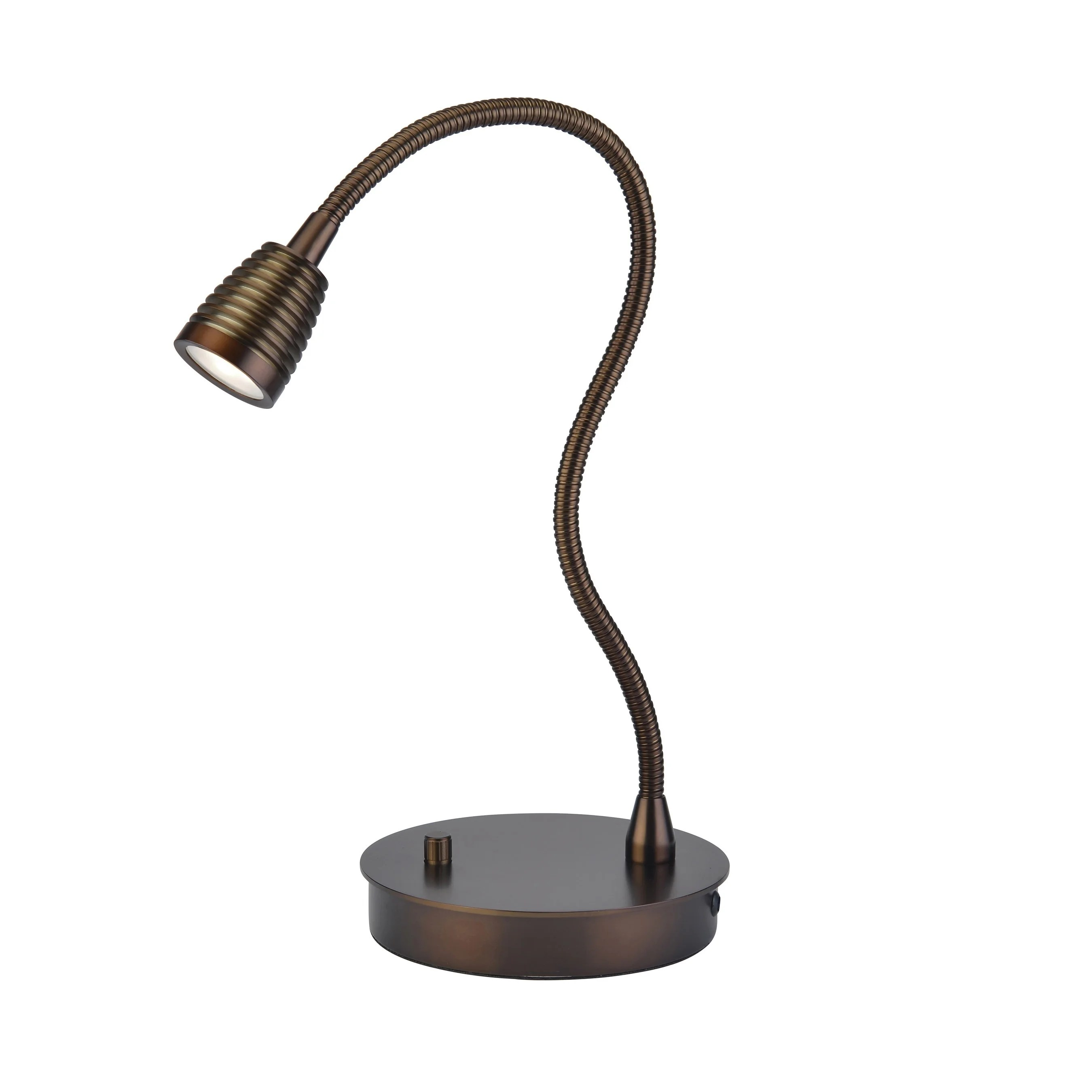 Gooseneck Lighting Access Lighting Taskwerx Bronze Led Gooseneck Task Lamp