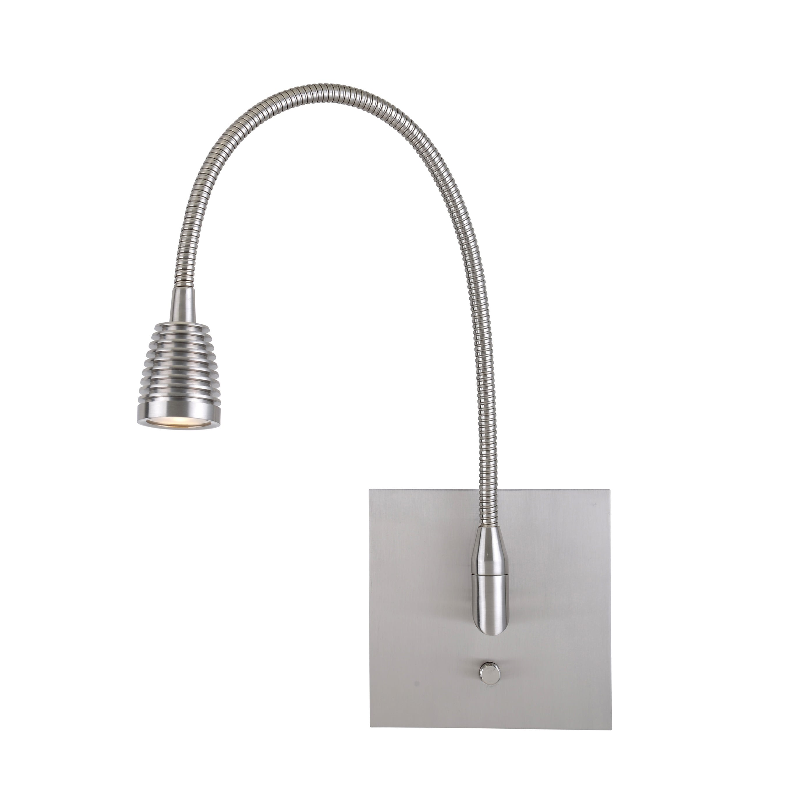 Gooseneck Lighting Access Lighting Taskwerx Steel Led Gooseneck Wall Task Lamp