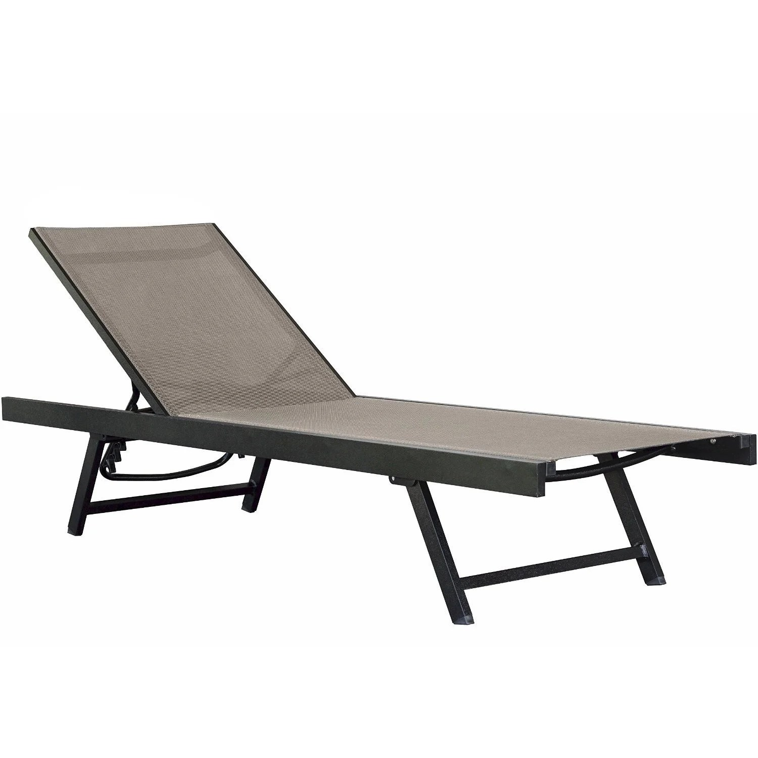Pool Chaise Lounge Chairs Vivere Urban Aluminum Outdoor Patio Chaise Lounge Chair