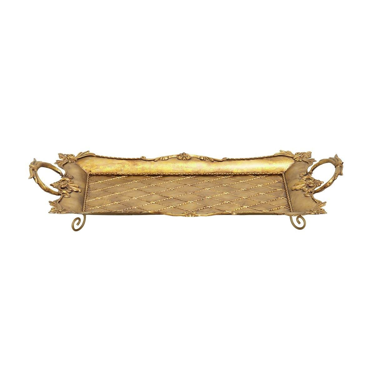 Gold Serving Tray Metal Gold Serving Tray