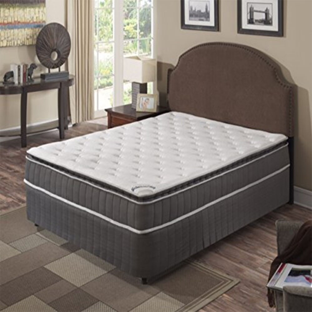 Pillow Top King Mattress Acura Pillowtop King Size Innerspring Mattress Set