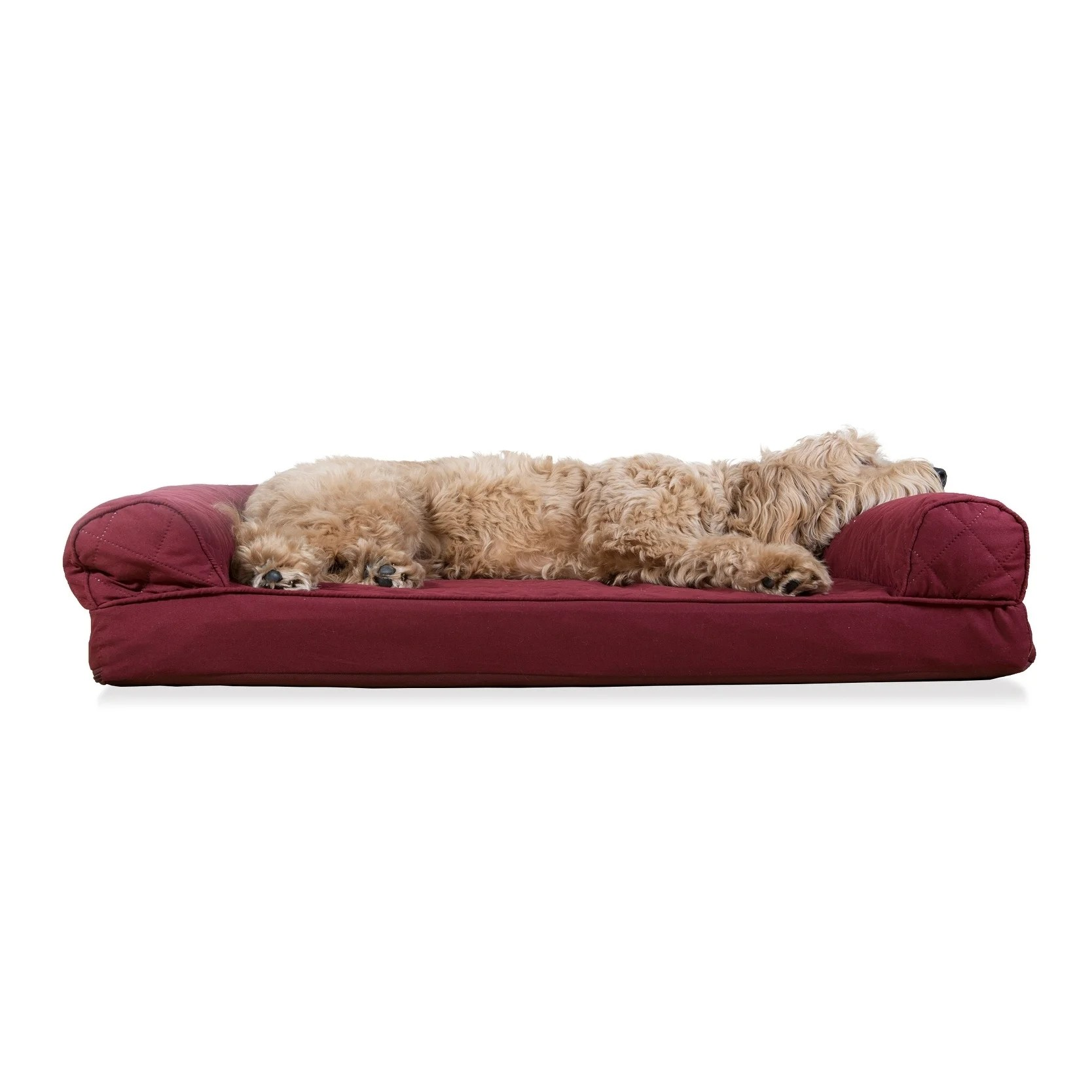 Sofa L Jumbo Furhaven Quilted Orthopedic Sofa Style Pet Bed