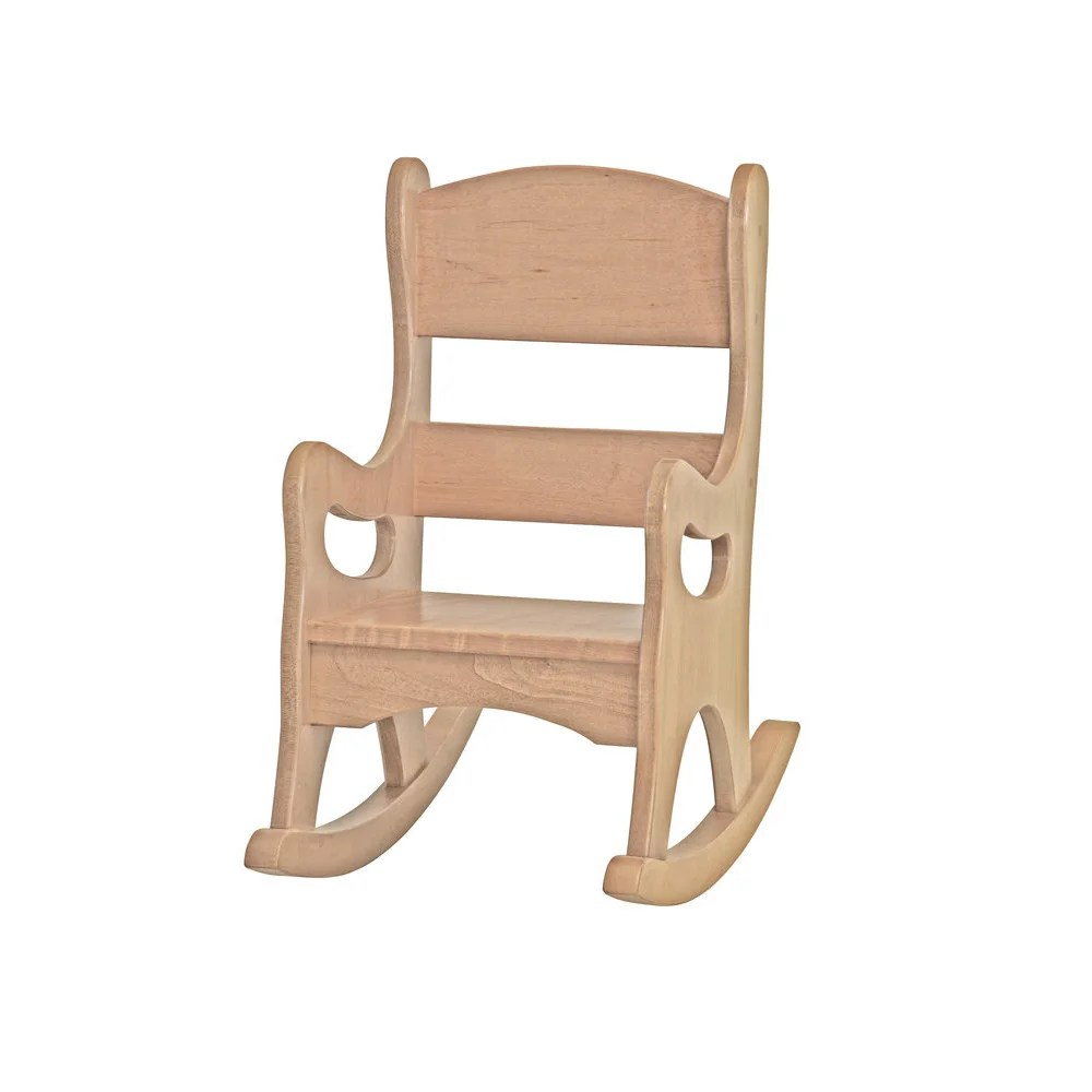 Wood Rocking Chair Children S Real Wood Rocking Chair