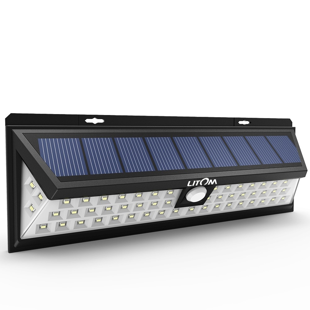Led Solar 54 Led Solar Lights Outdoor Waterproof Solar Power Lights With 120 Wide Angle Motion Sensor