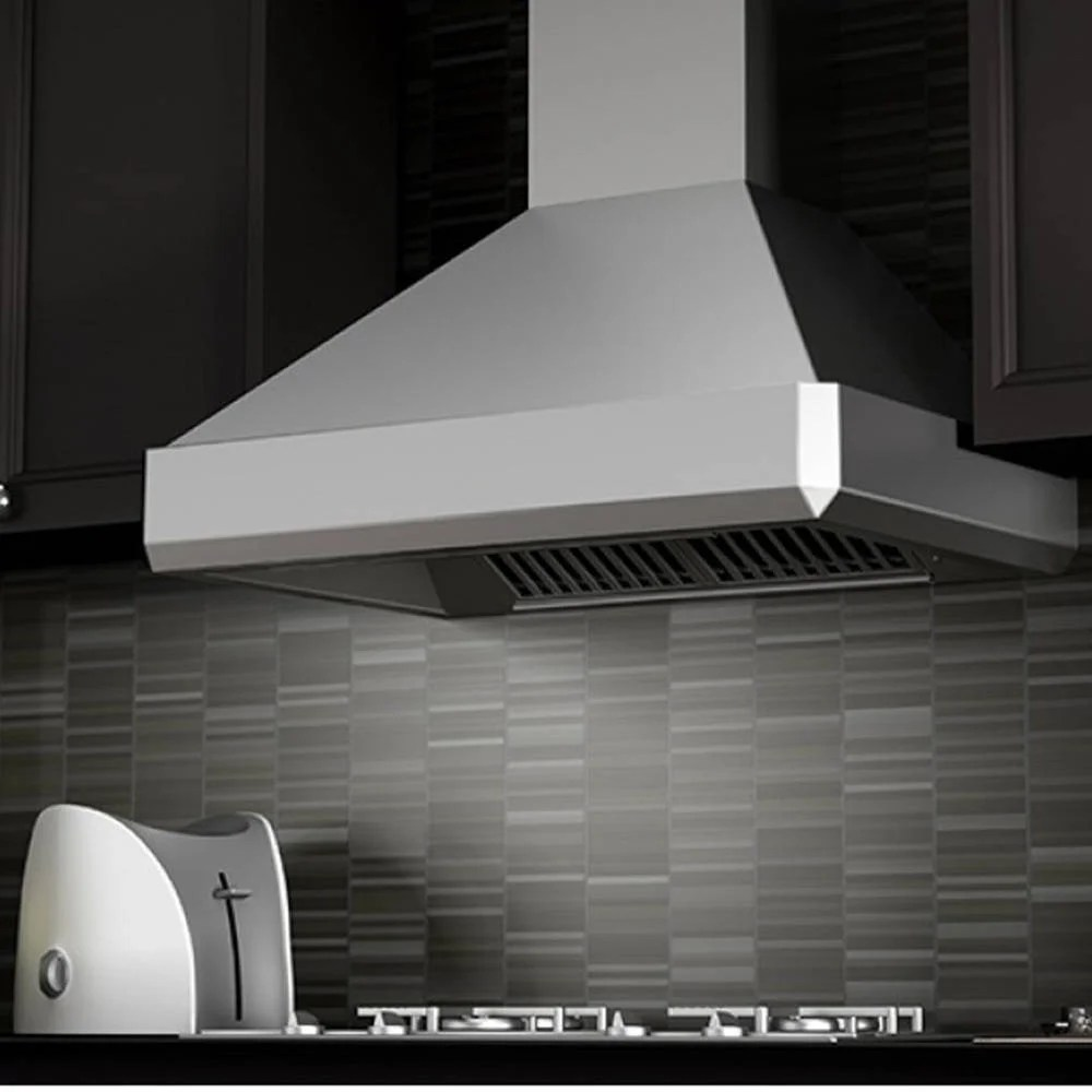900 Rangehood Zline 30 In 900 Cfm Stainless Steel Wall Mount Range Hood