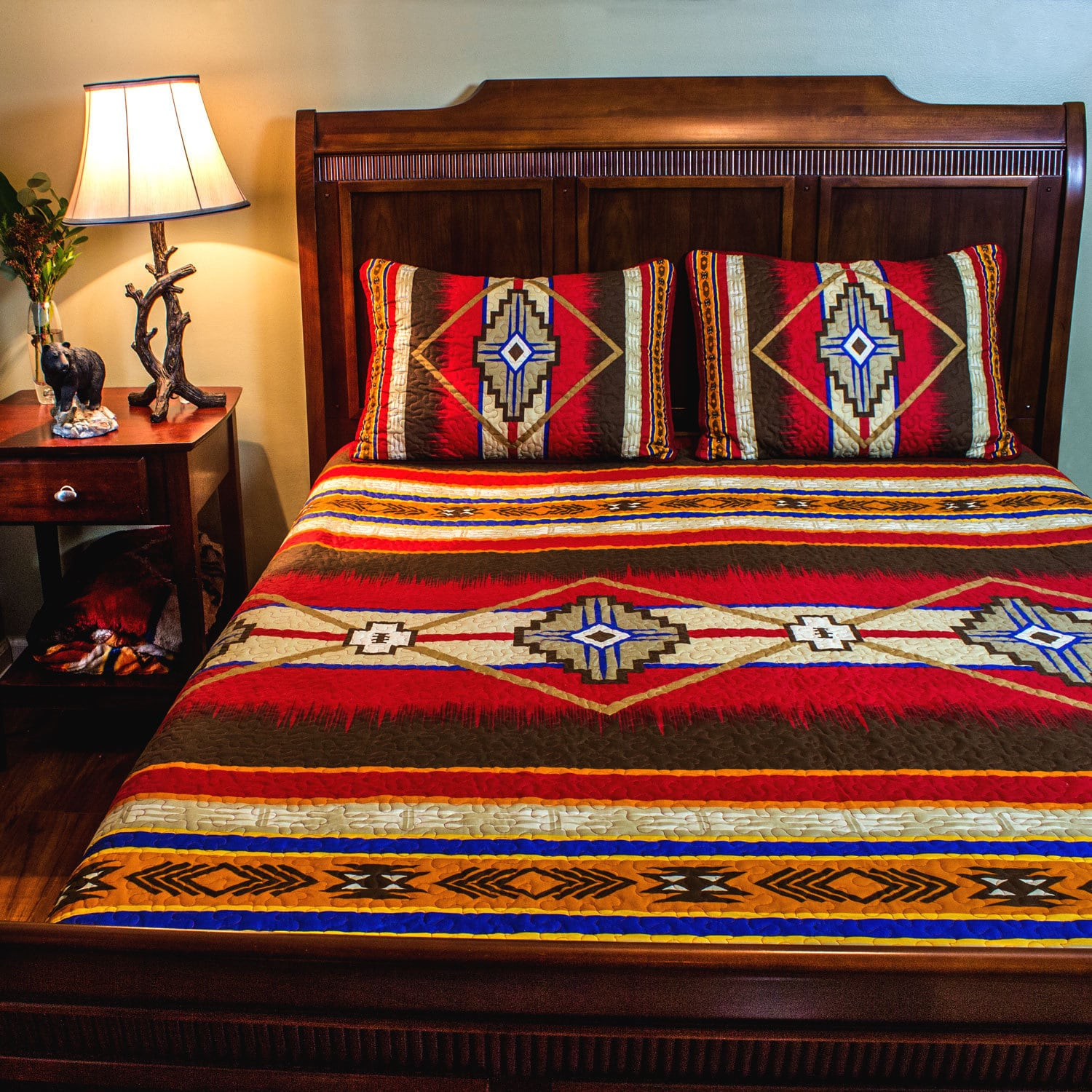Coverlets For Sale Southwestern Stylish Quilt Set