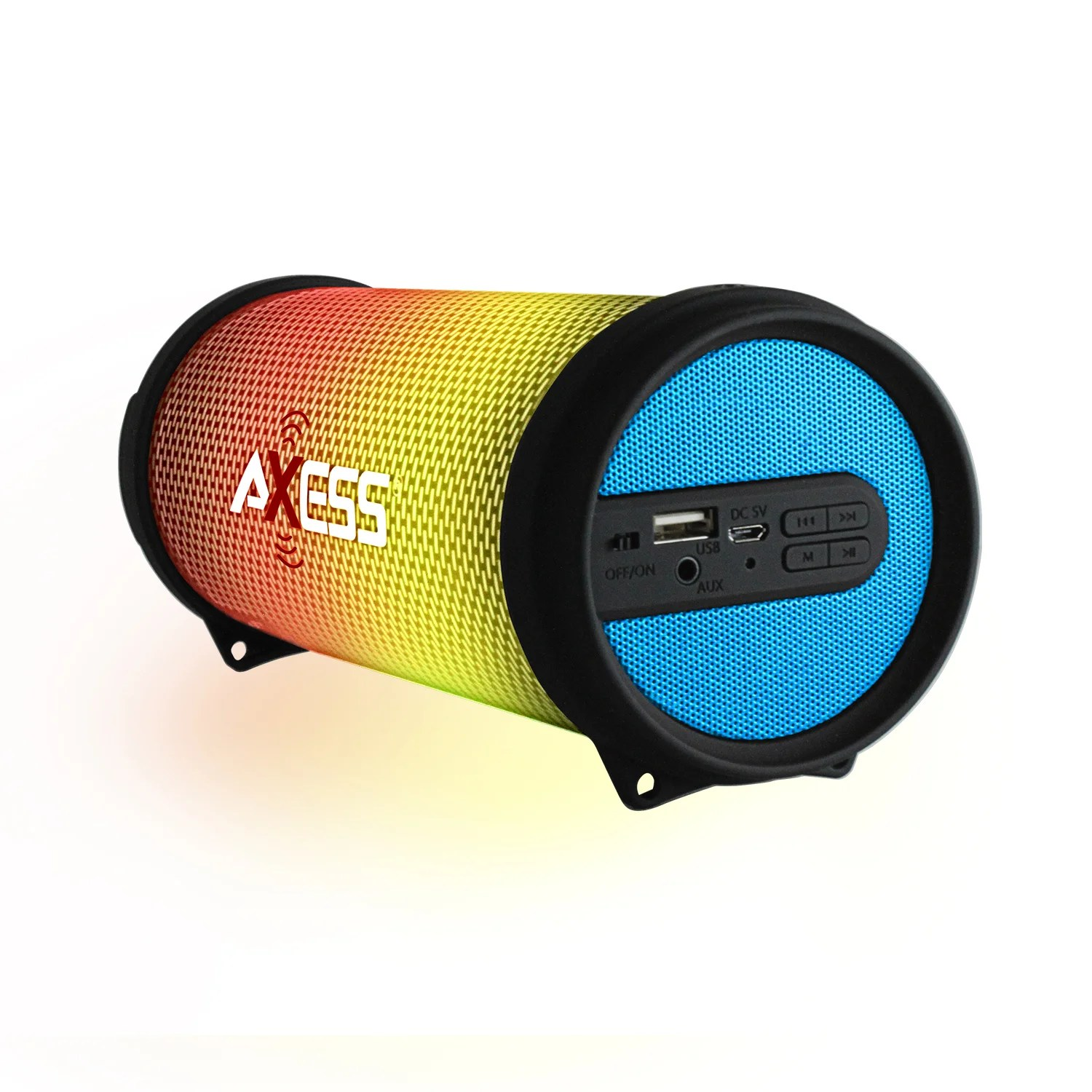 Hifi Bluetooth Axess Blue Dancing Led Lights Hifi Bluetooth Rechargeable Speaker