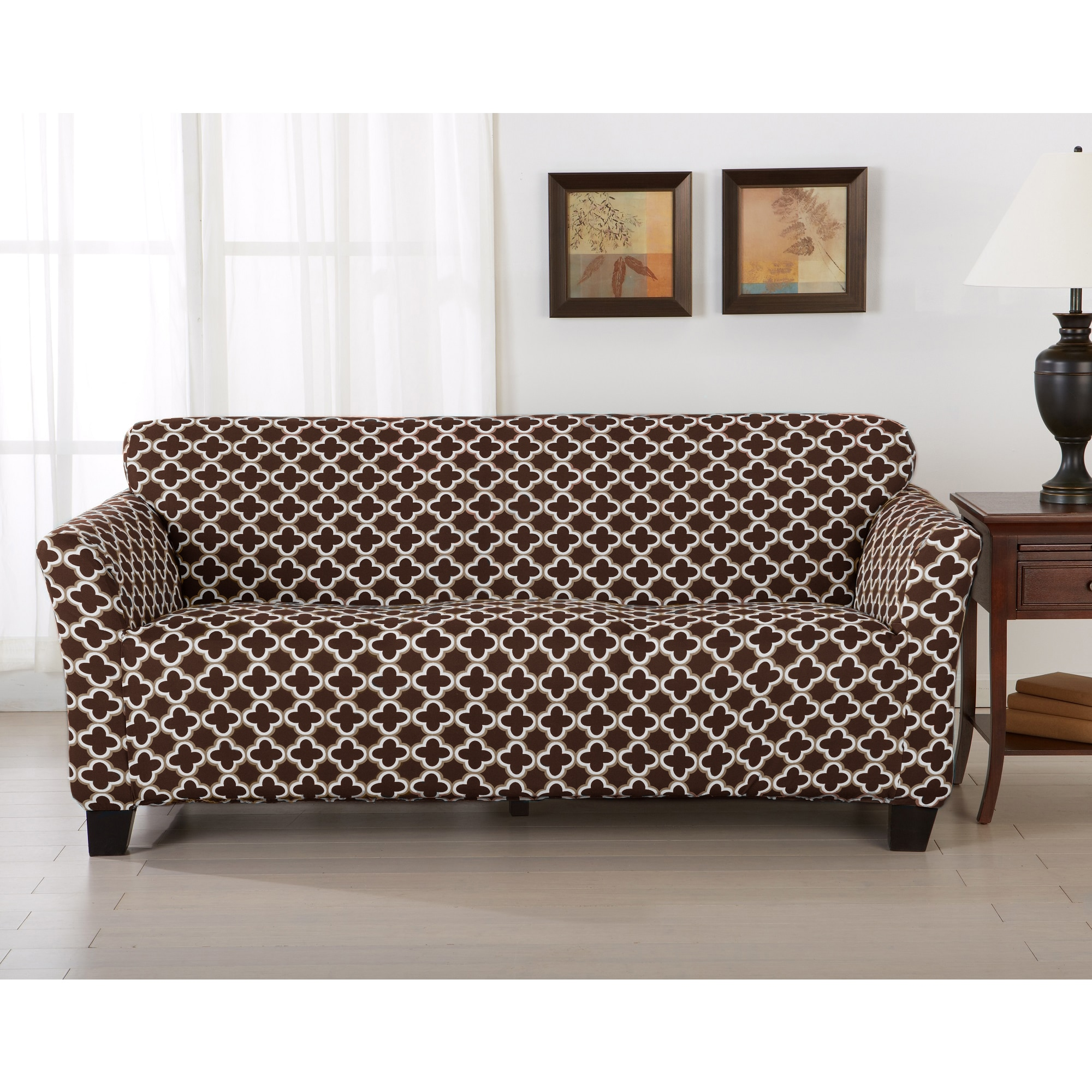 Couch Cover Sofa Home Fashion Designs Brenna Collection Stretch Form Fitted Sofa Slipcover