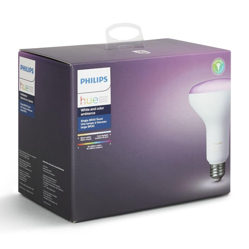 Philips Hue Br30 Philips Hue White And Color Ambiance Single Bulb Br30