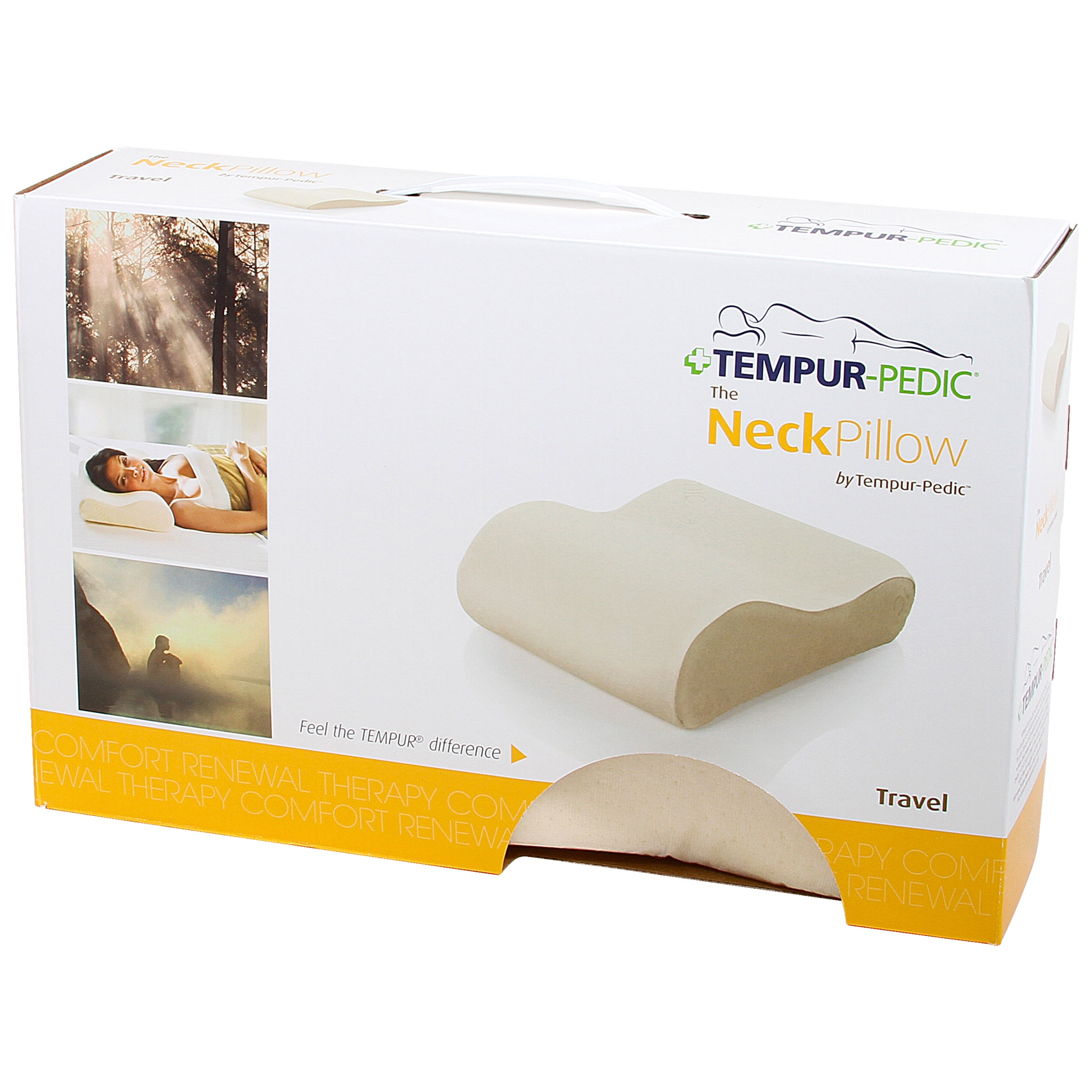 How To Use Tempurpedic Neck Pillow Tempur Neck Travel Pillow Beige