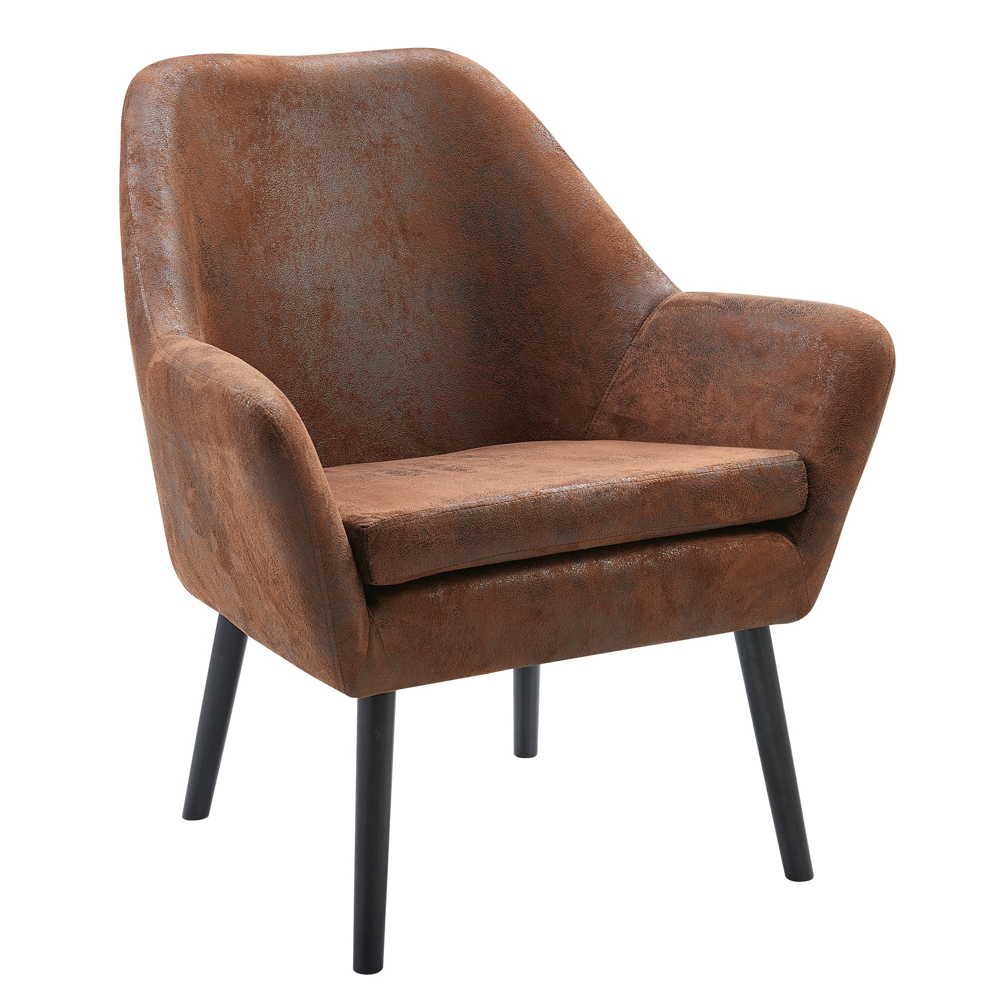 Versanora Divano Armchair Aged Fabric On Sale Overstock 16324817