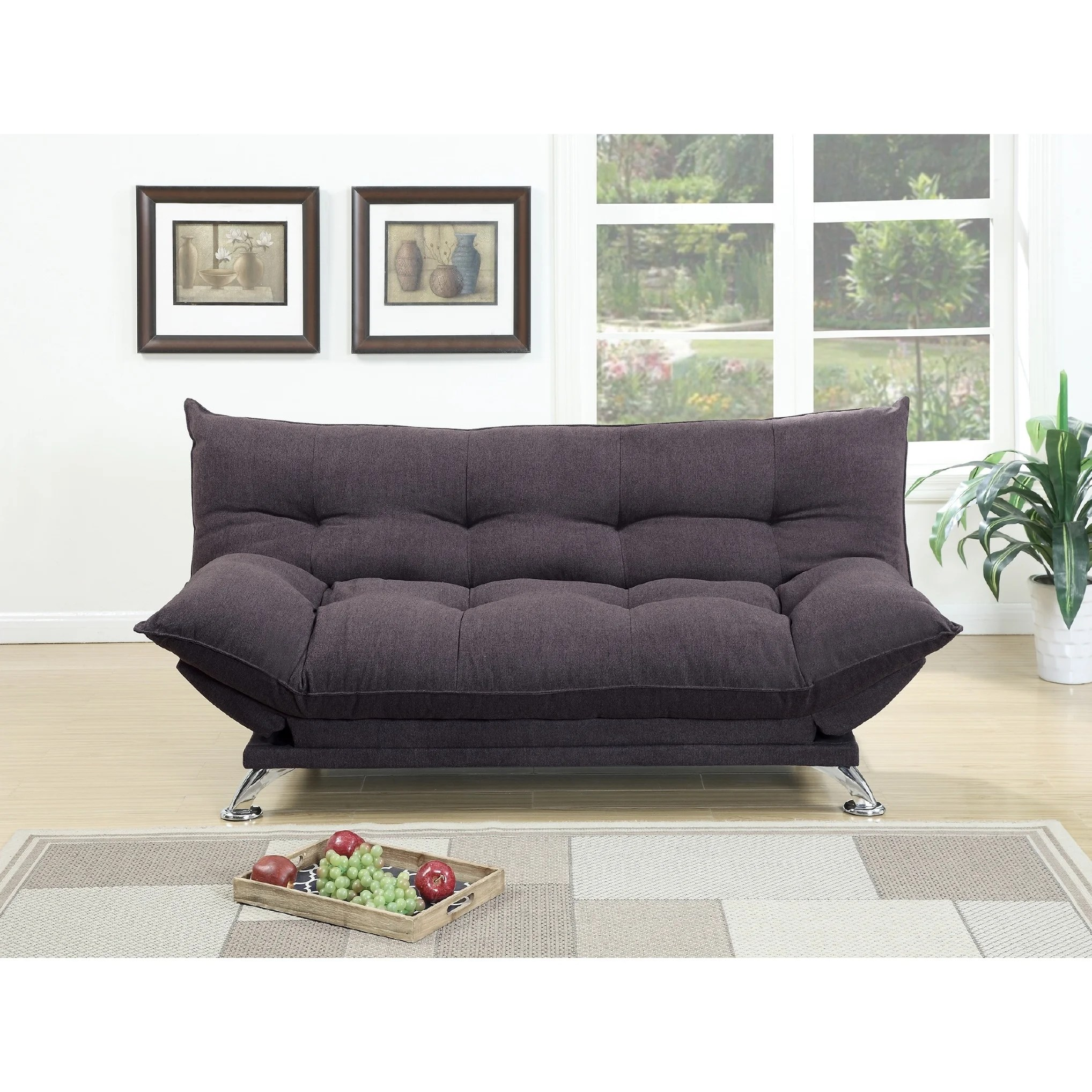 Couches Sleeper Rio Polyfiber Plush Sleeper Sofa