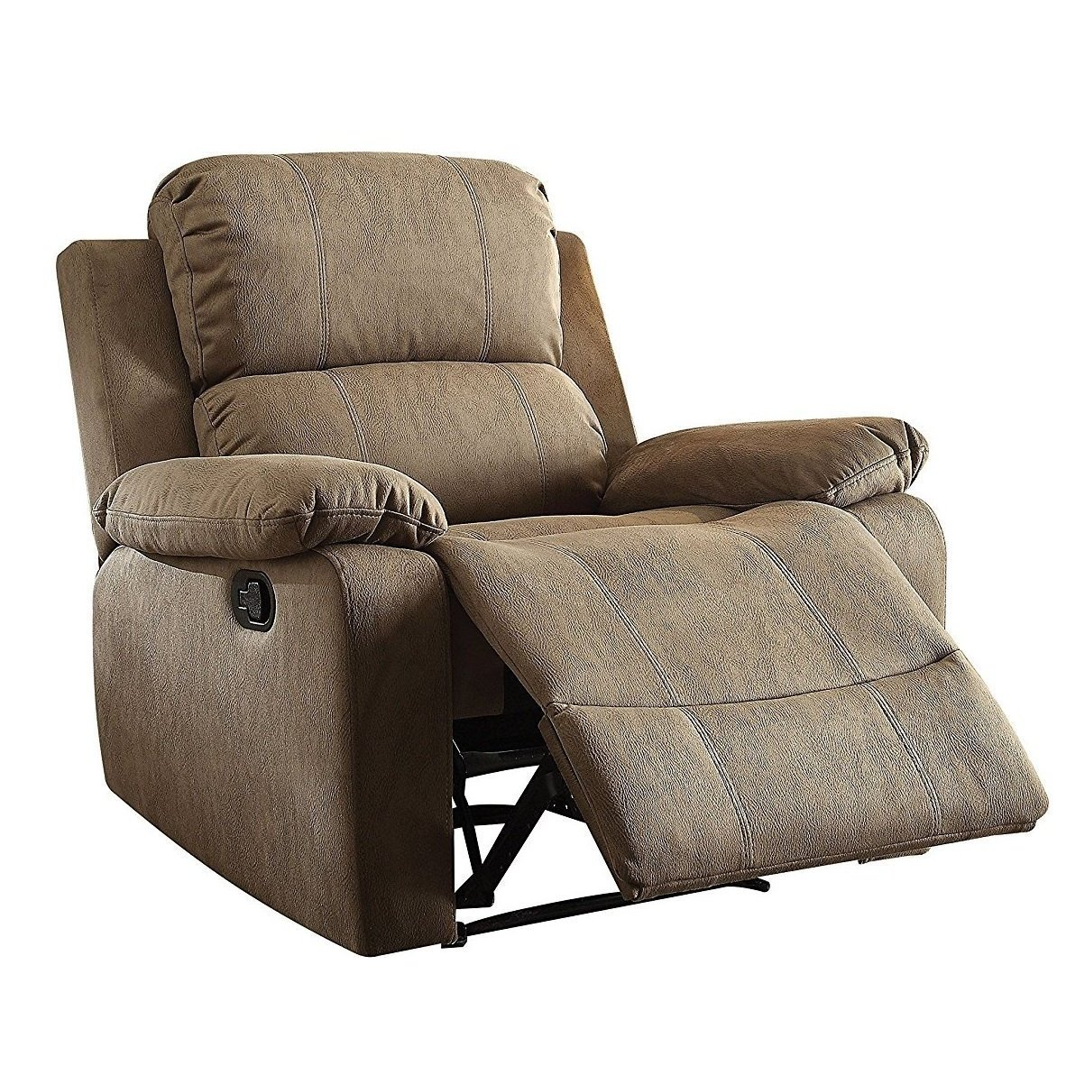 Recliner Pillow Q Max Tan Memory Foam Pillow Top Recliner