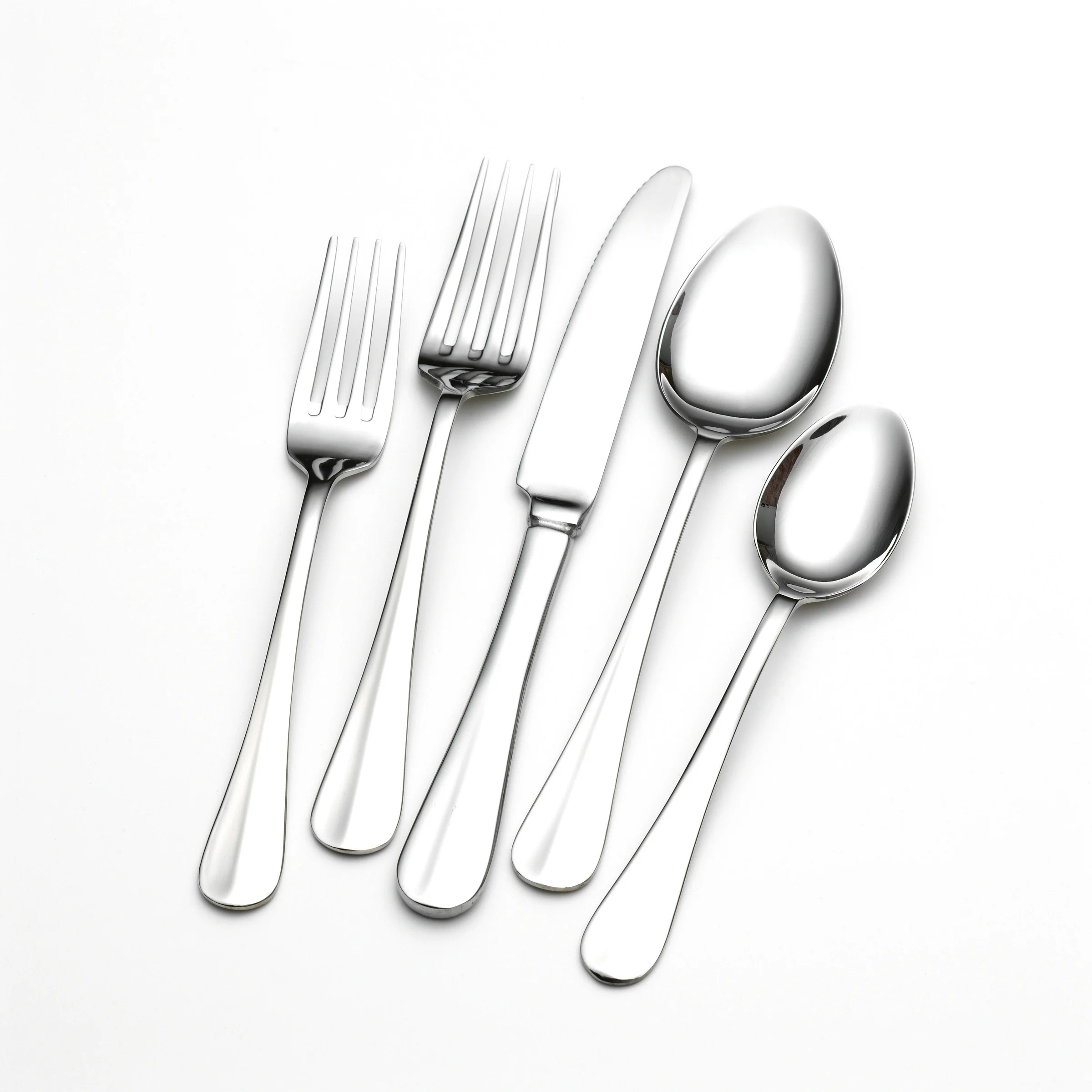Discount Stainless Flatware Towle Living Hartford Stainless Steel 101 Piece Flatware Set