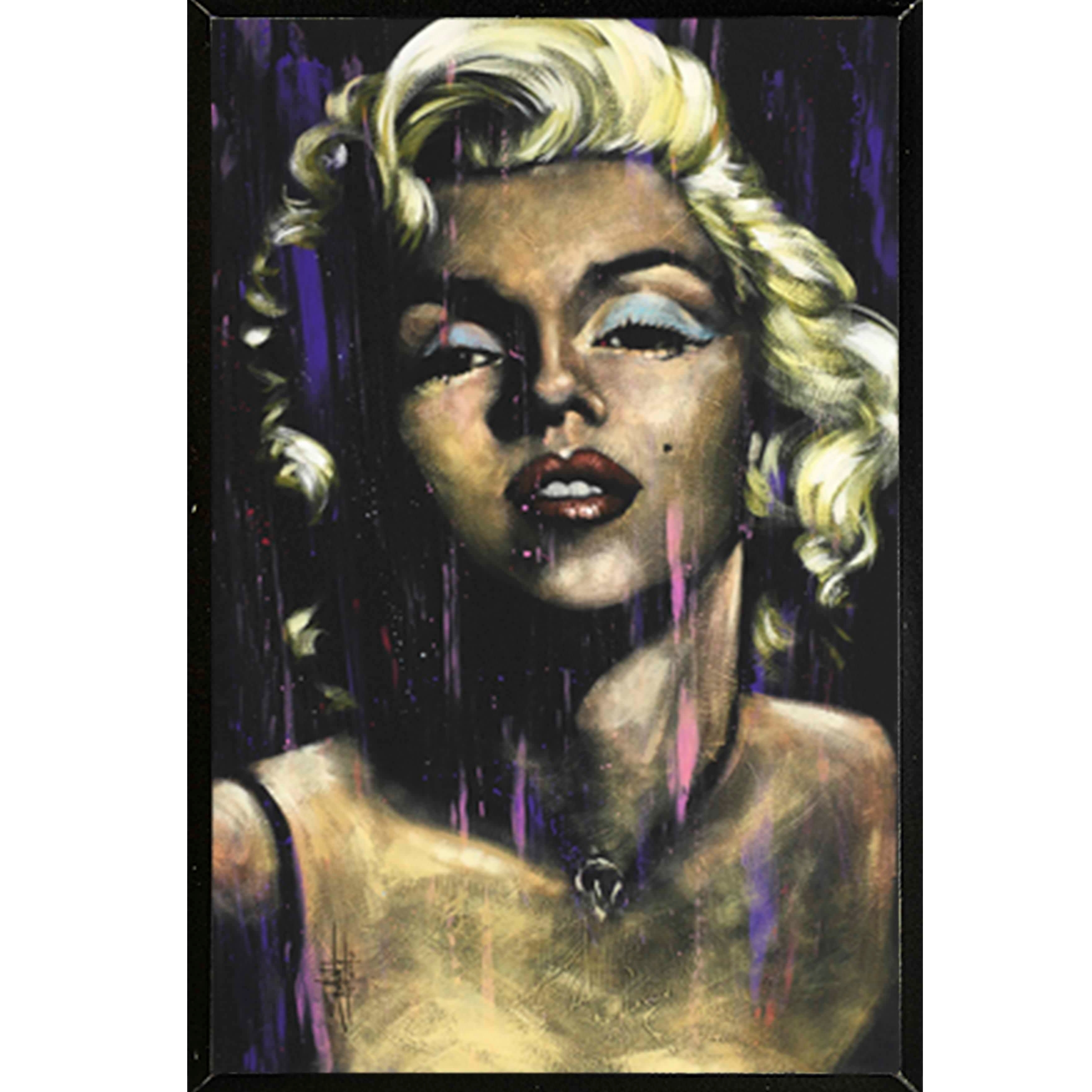 Marilyn Monroe Poster Candle In The Wind Marilyn Monroe Poster With Choice Of Frame 24x36