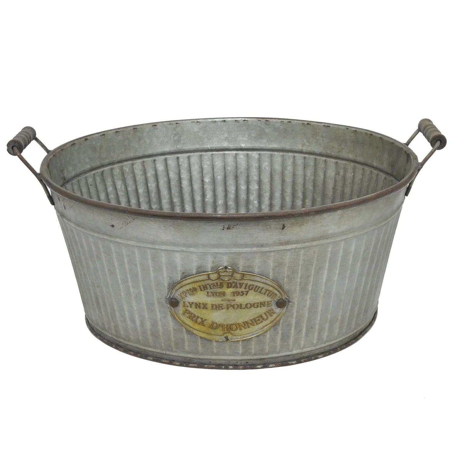 Metal Wash Bin Galvanized Metal Bucket
