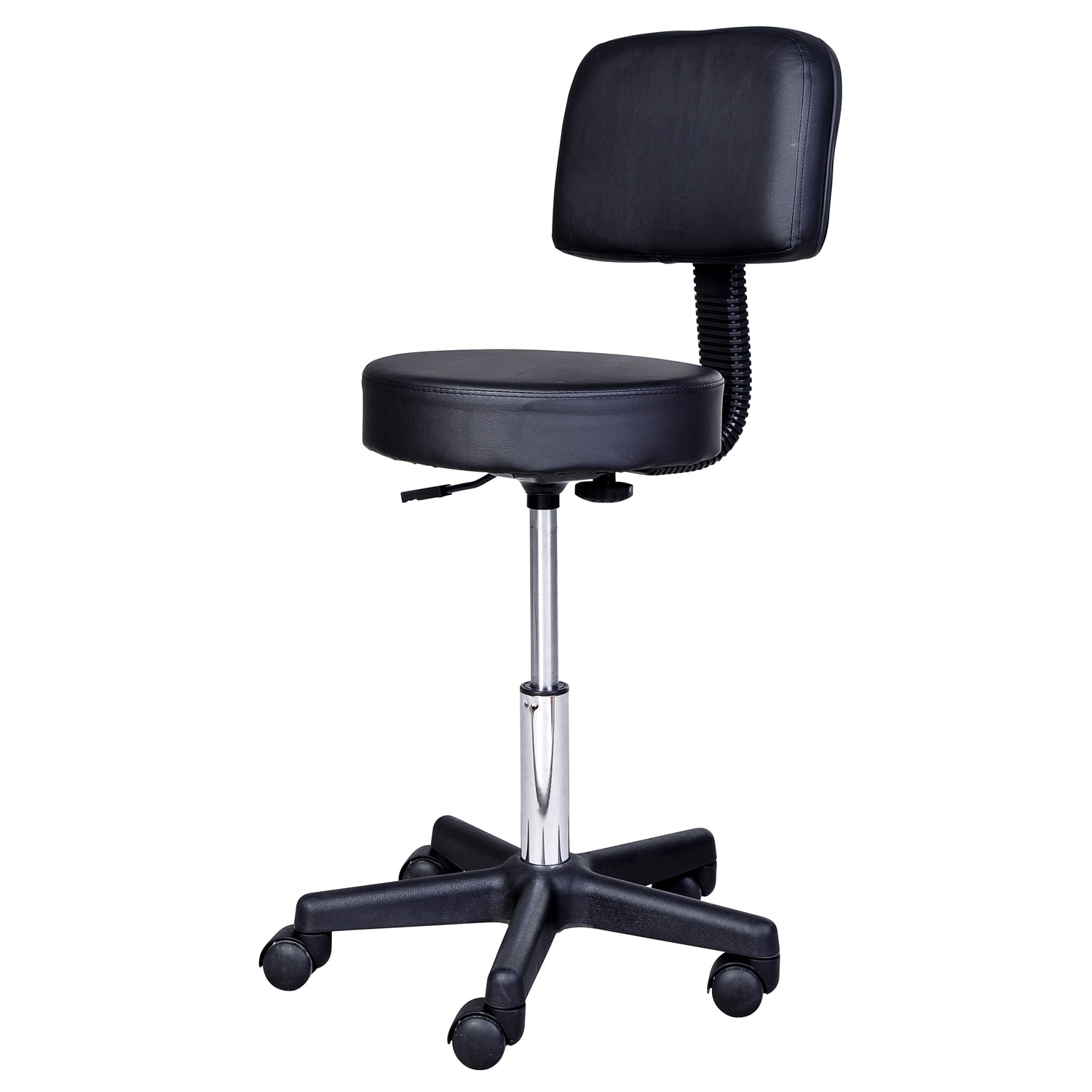 Salon De Massage 93 Homcom Adjustable Swivel Salon And Massage Stool