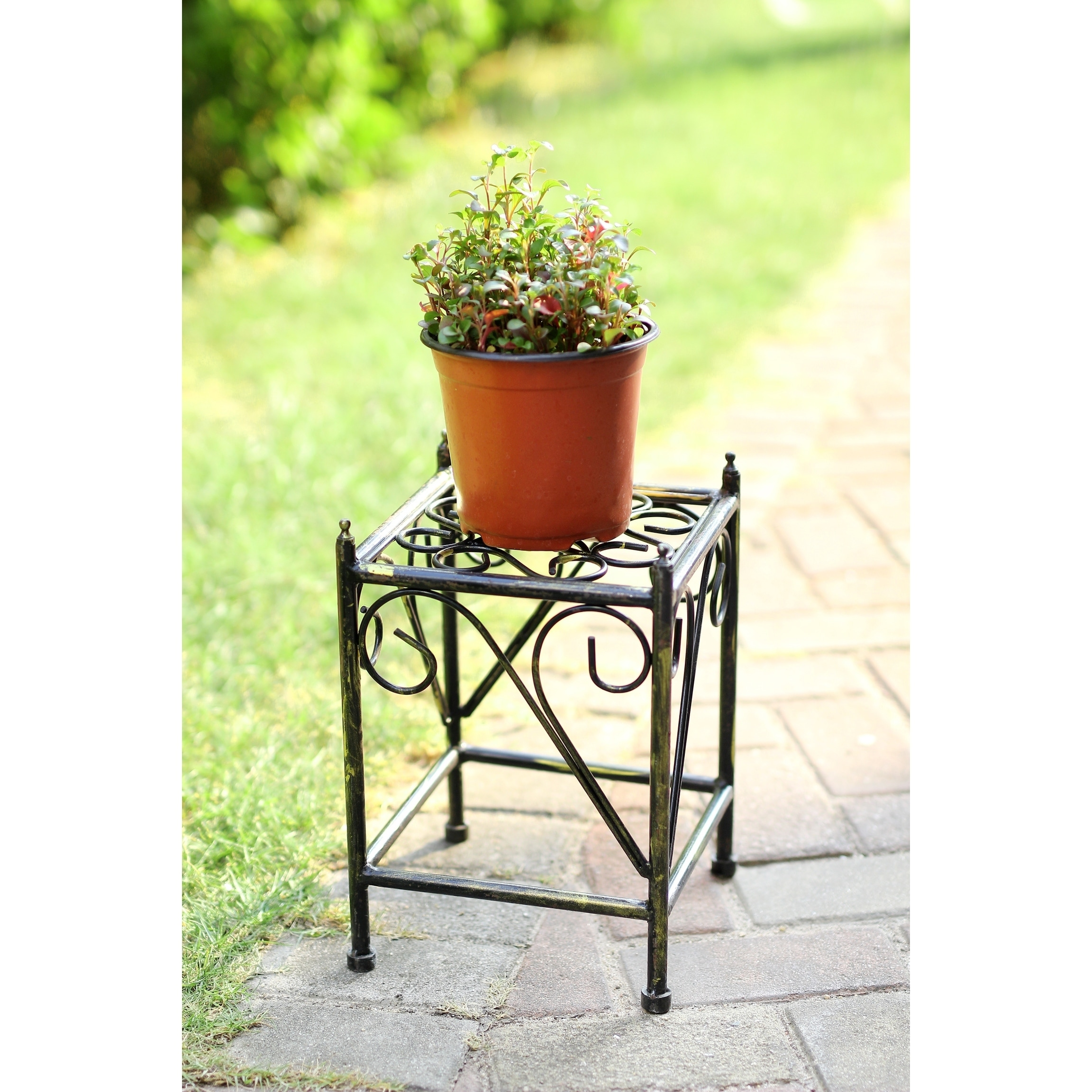 Small Outdoor Plant Stands Baker Racks Small Wire Bakers Rack