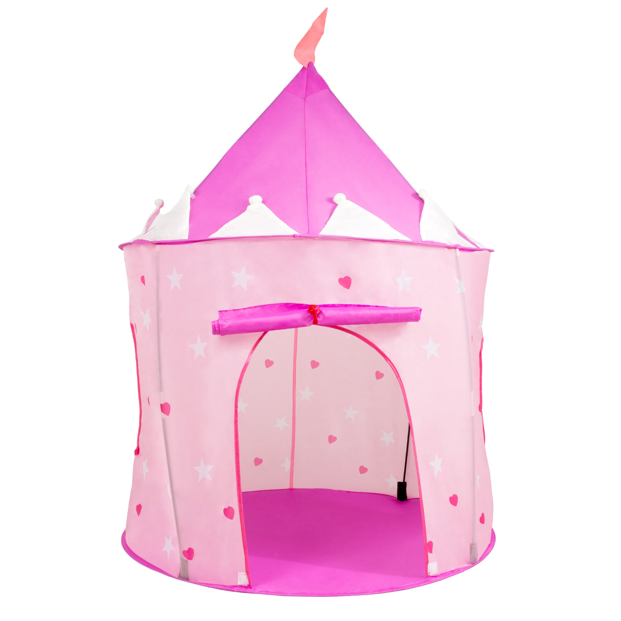 Kids Play Tent Kids Play Tent Princess Castle Pop Playhouse For Indoor Outdoor Pink Playroom Toy Foldable With Carrying Bag By Hey Play