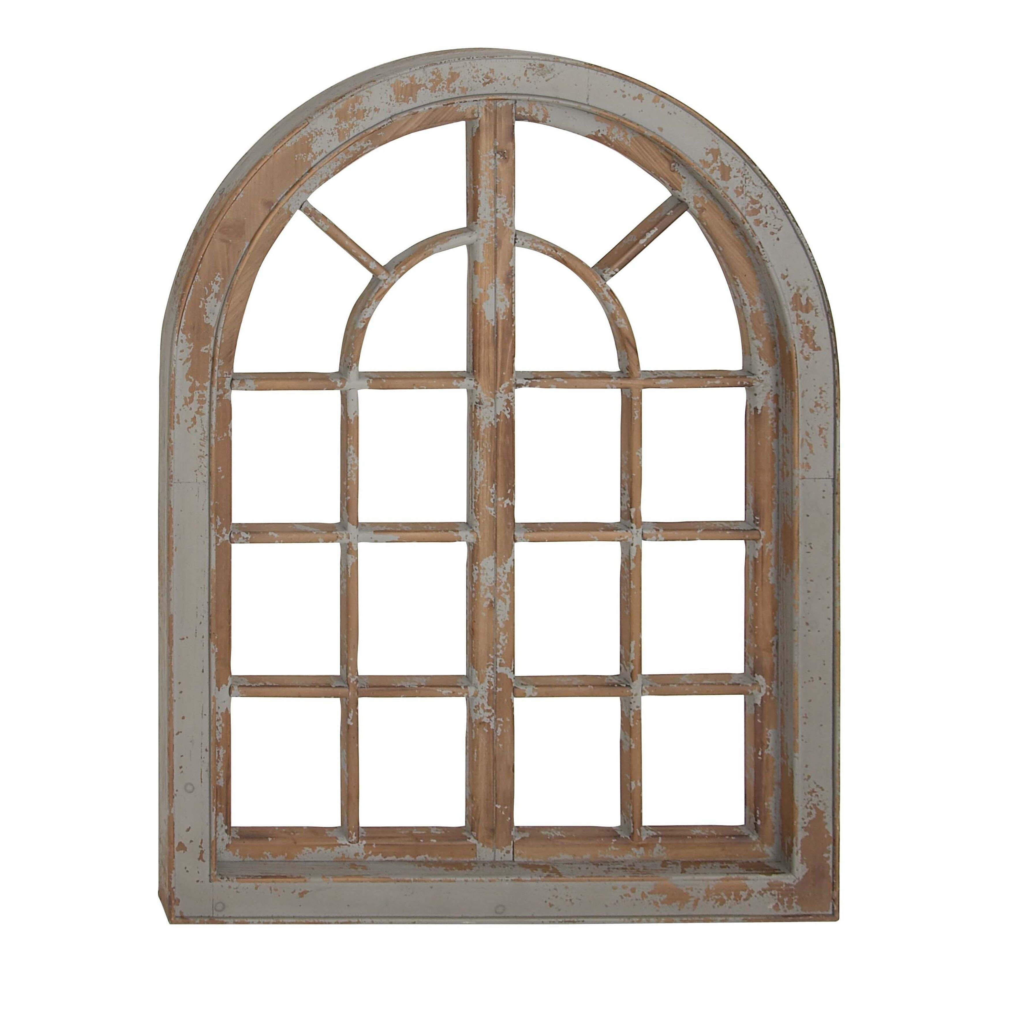 Wall Decor Wooden Traditional Arched Wooden Wall Decor