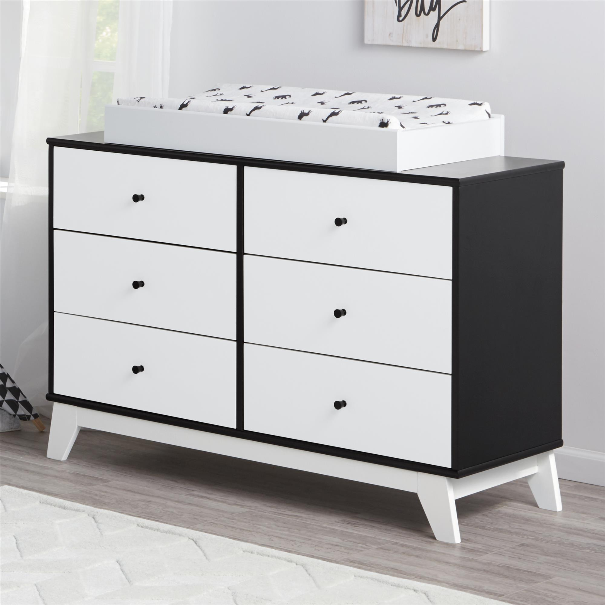 Changing Table Chest Of Drawers Little Seeds Rowan Valley Flint 6 Drawer Changing Table