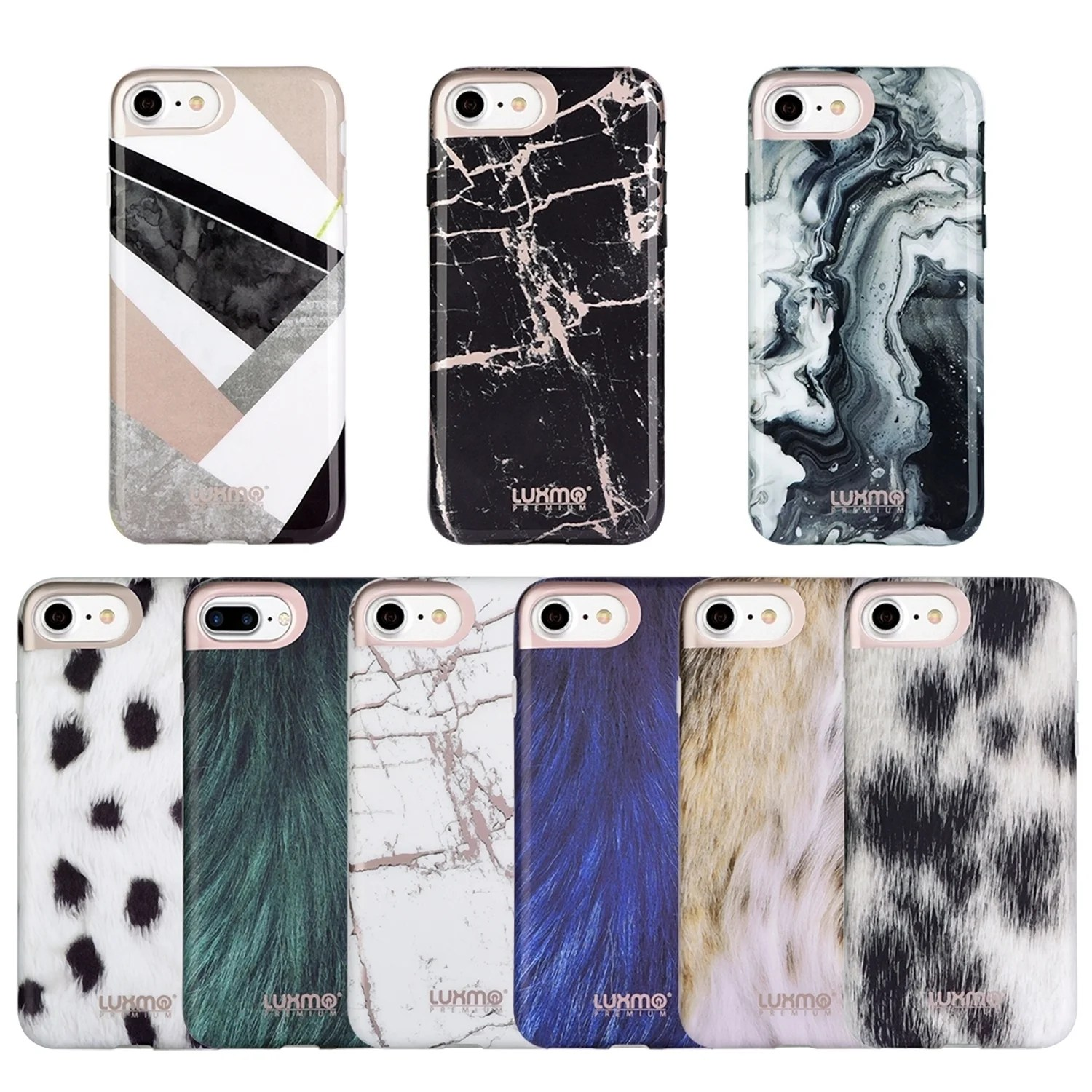 Mobile De24 Premium Furbulous Collection Iphone 8 Iphone 7 Animal Fur Case