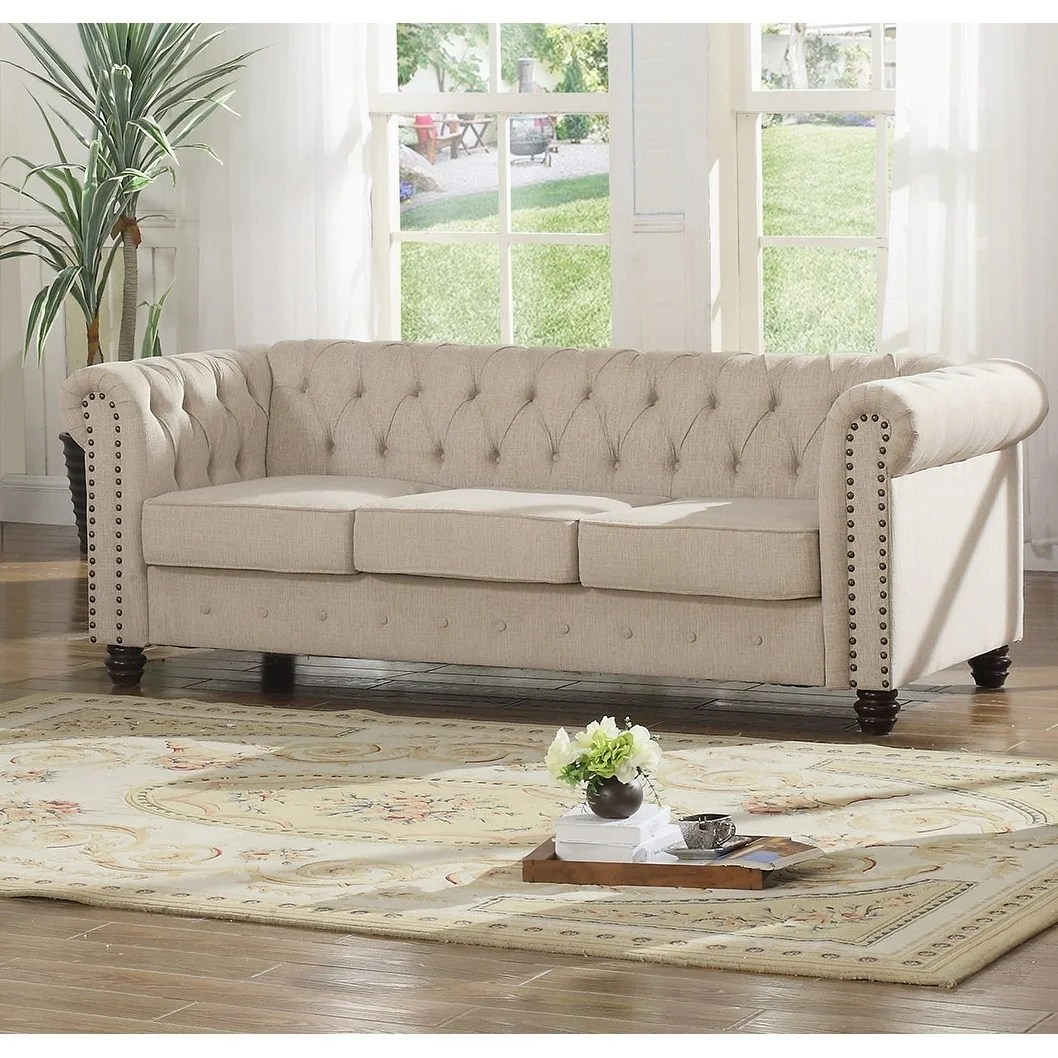 Couch Upholstery Fourways Best Master Furniture Tufted Upholstered Sofa
