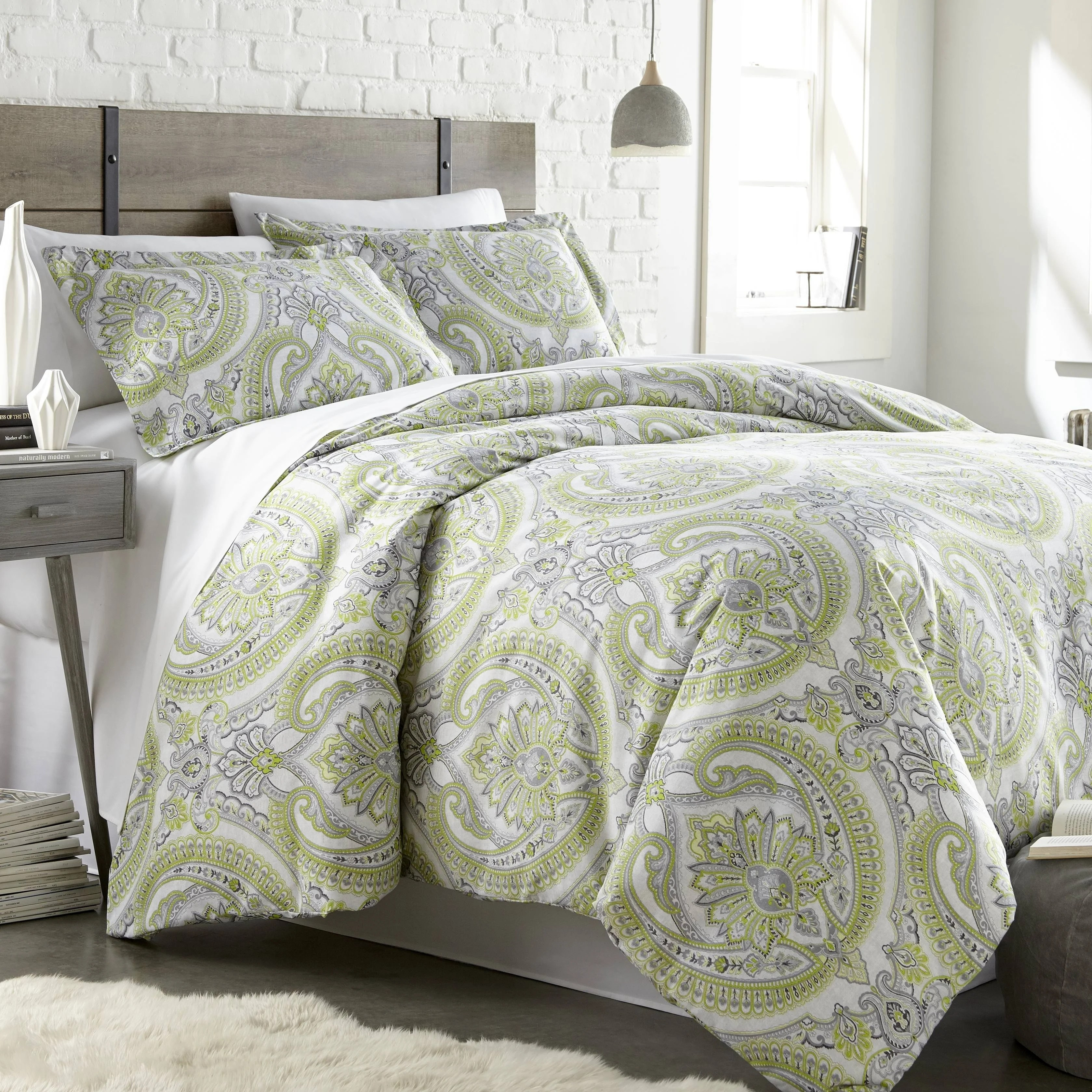 Where To Buy Nice Duvet Covers Pure Melody Classic Paisley Duvet Cover And Sham Set