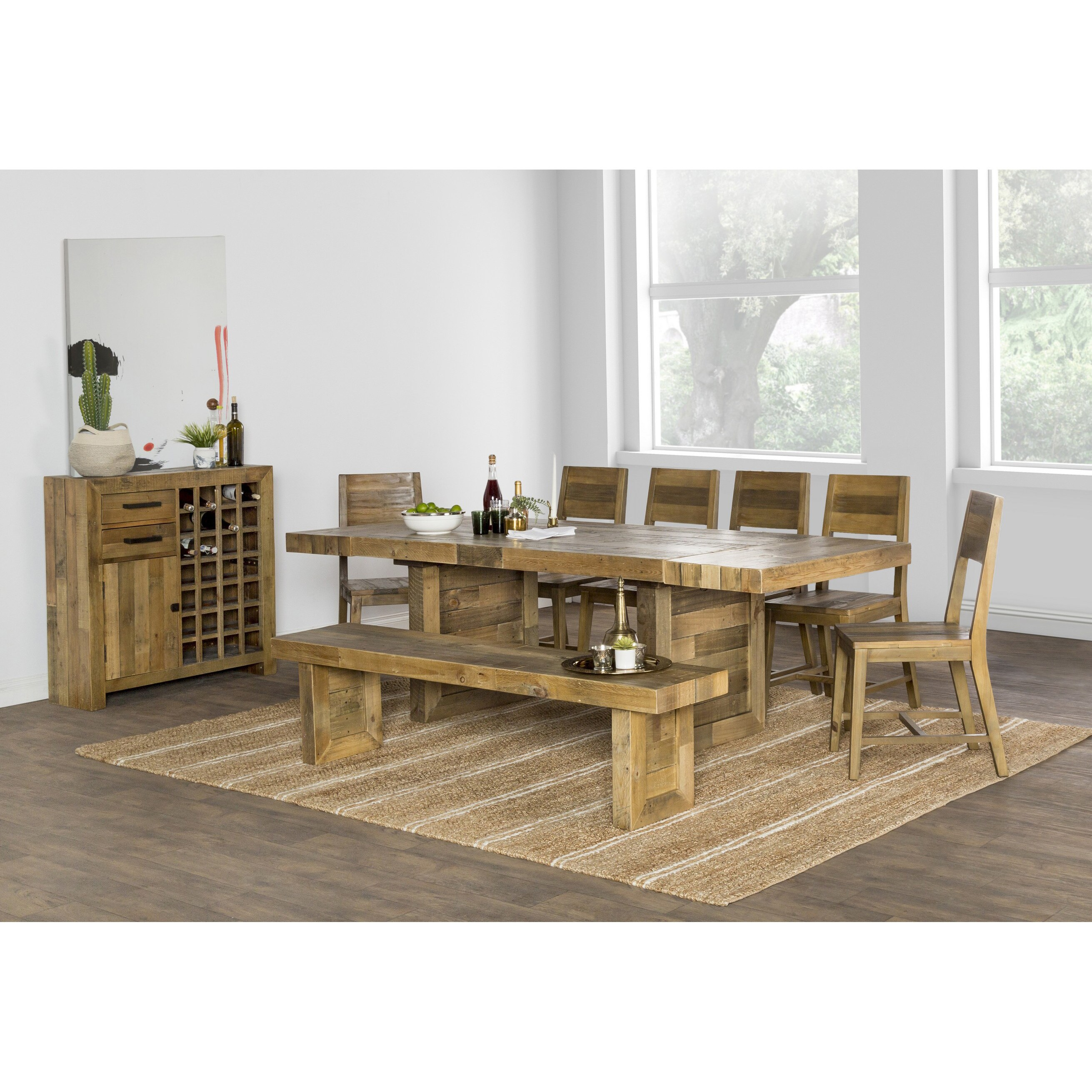 Extending Dining Table The Gray Barn Fairview Reclaimed Wood Extending Dining Table Natural Multi Tone