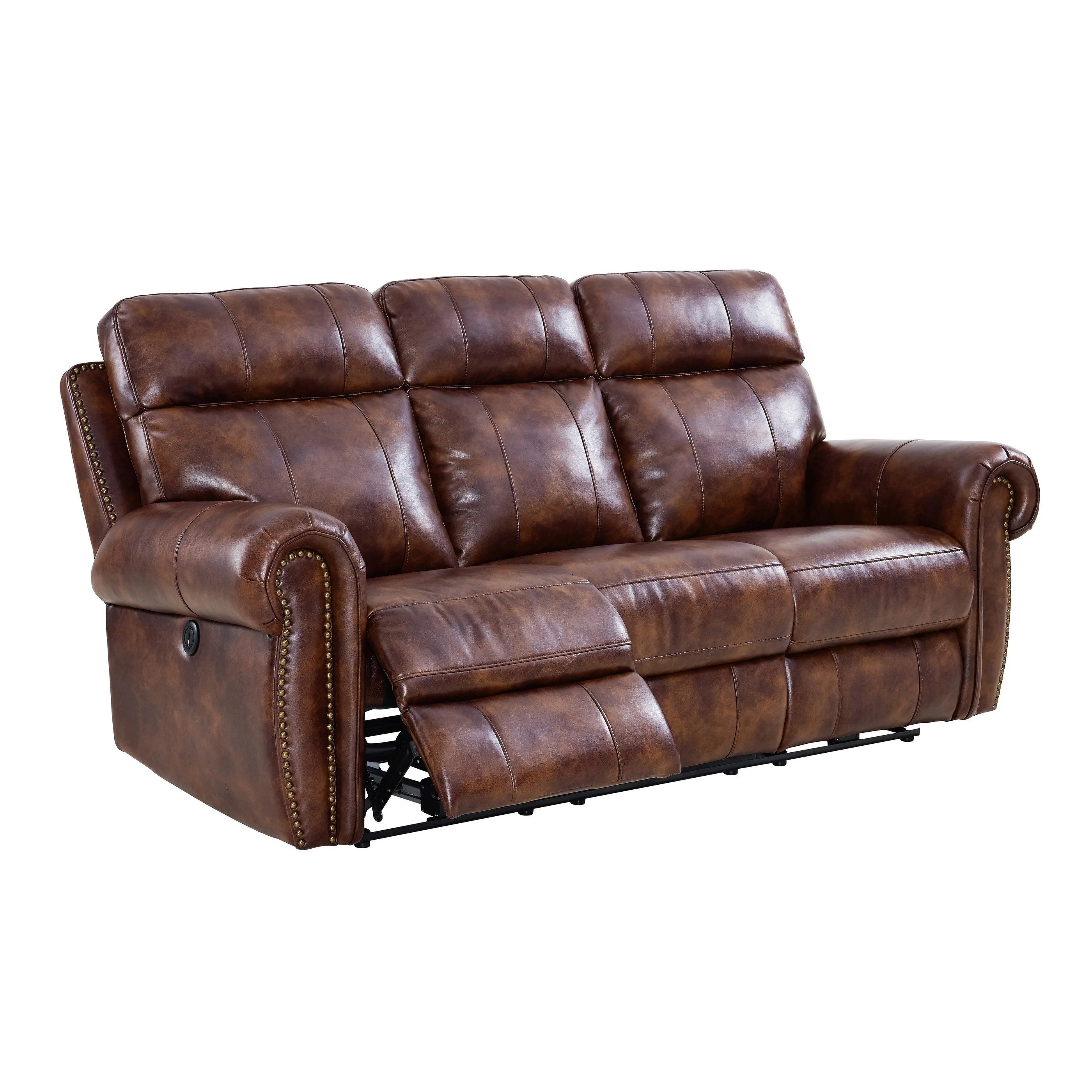 Dual Reclining Leather Sofa Furniture Amazing Power Reclining Sofa