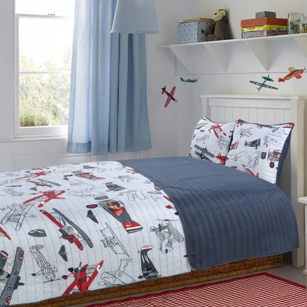 Quilt Sets Little Adrien Explorer 3pc Microfiber Quilt Sets
